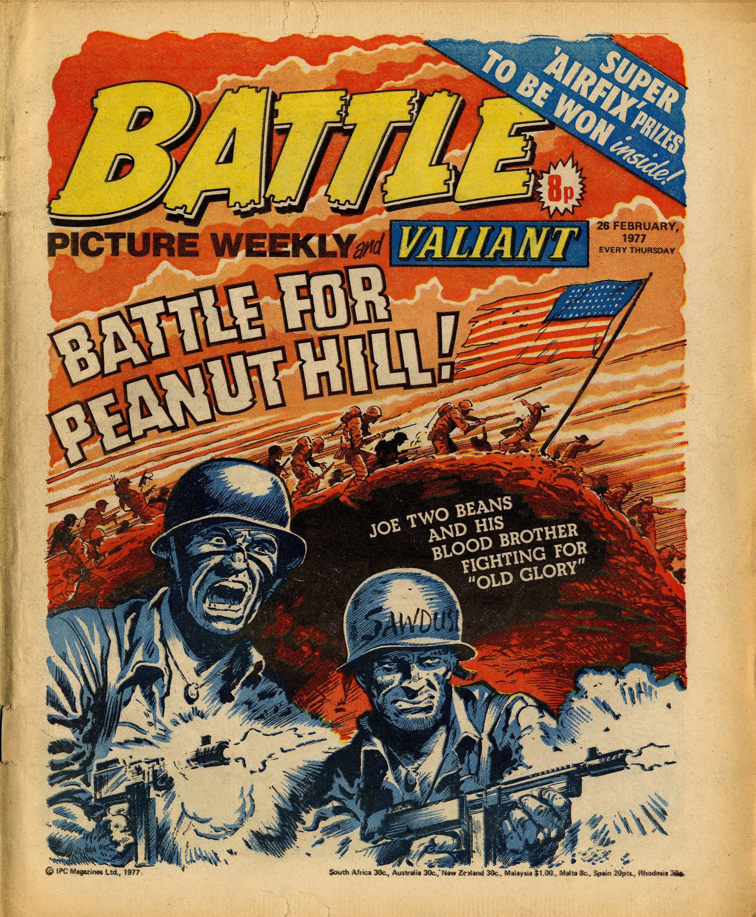 Battle Picture Weekly and Valiant cover artwork: Jim Watson