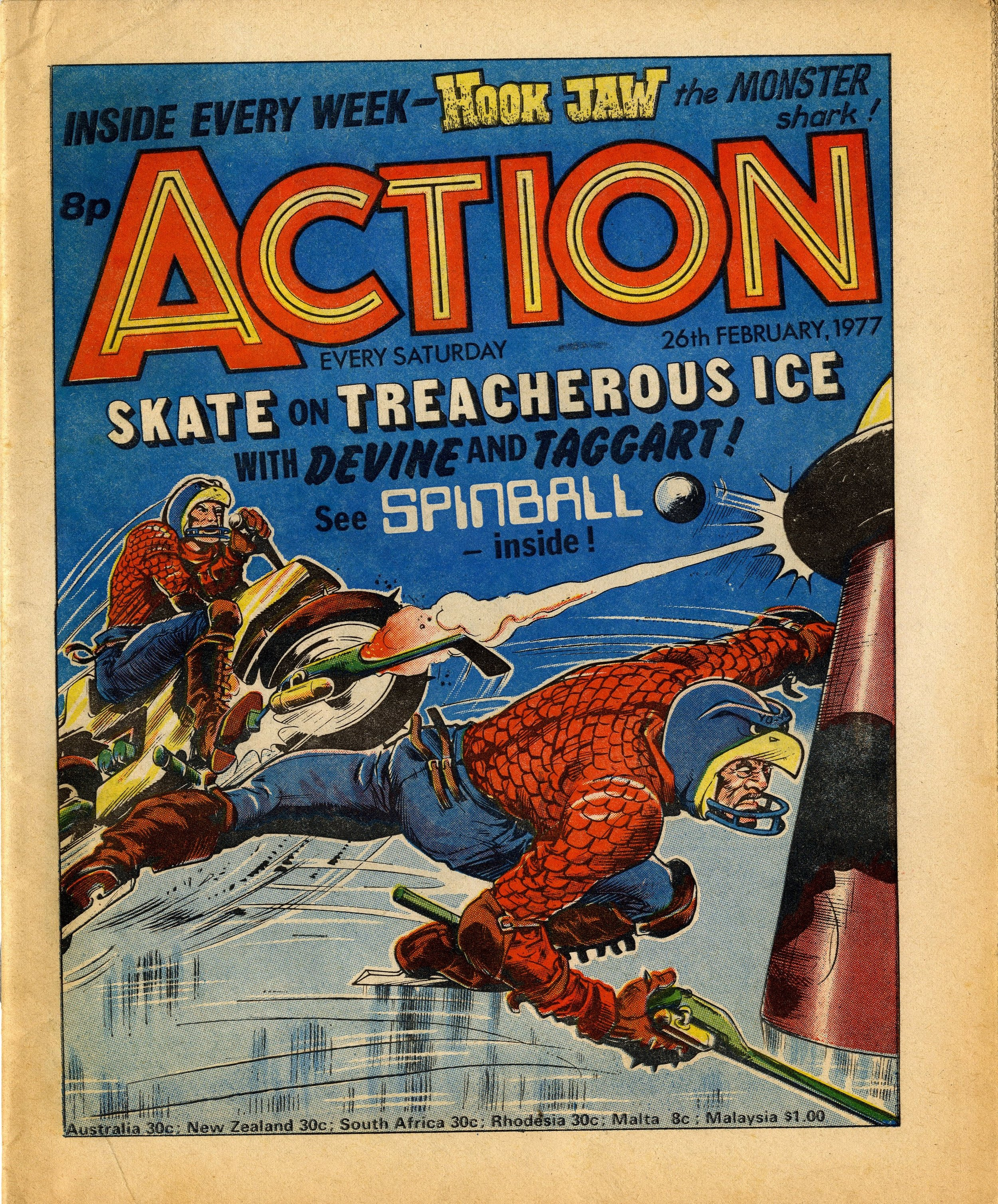 Action cover artwork: Costa?