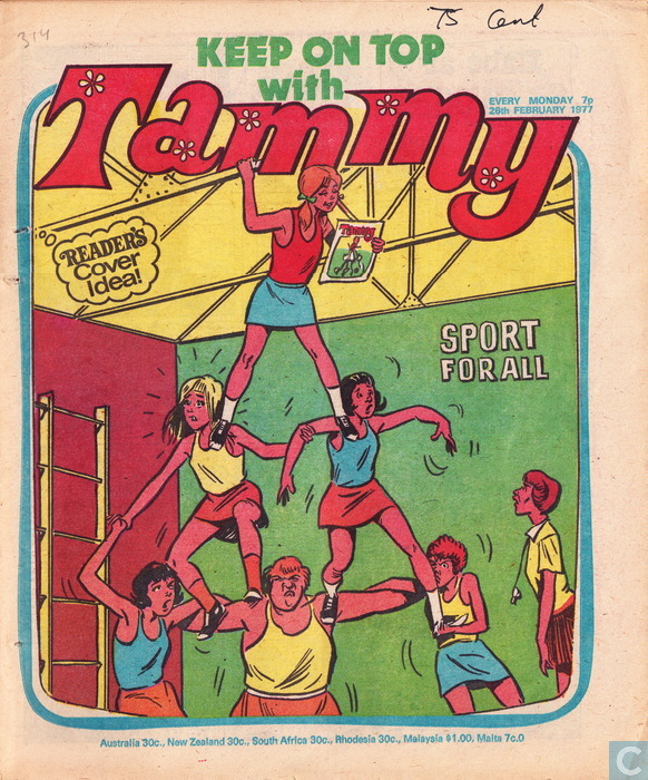 Tammy cover artwork: John Richardson