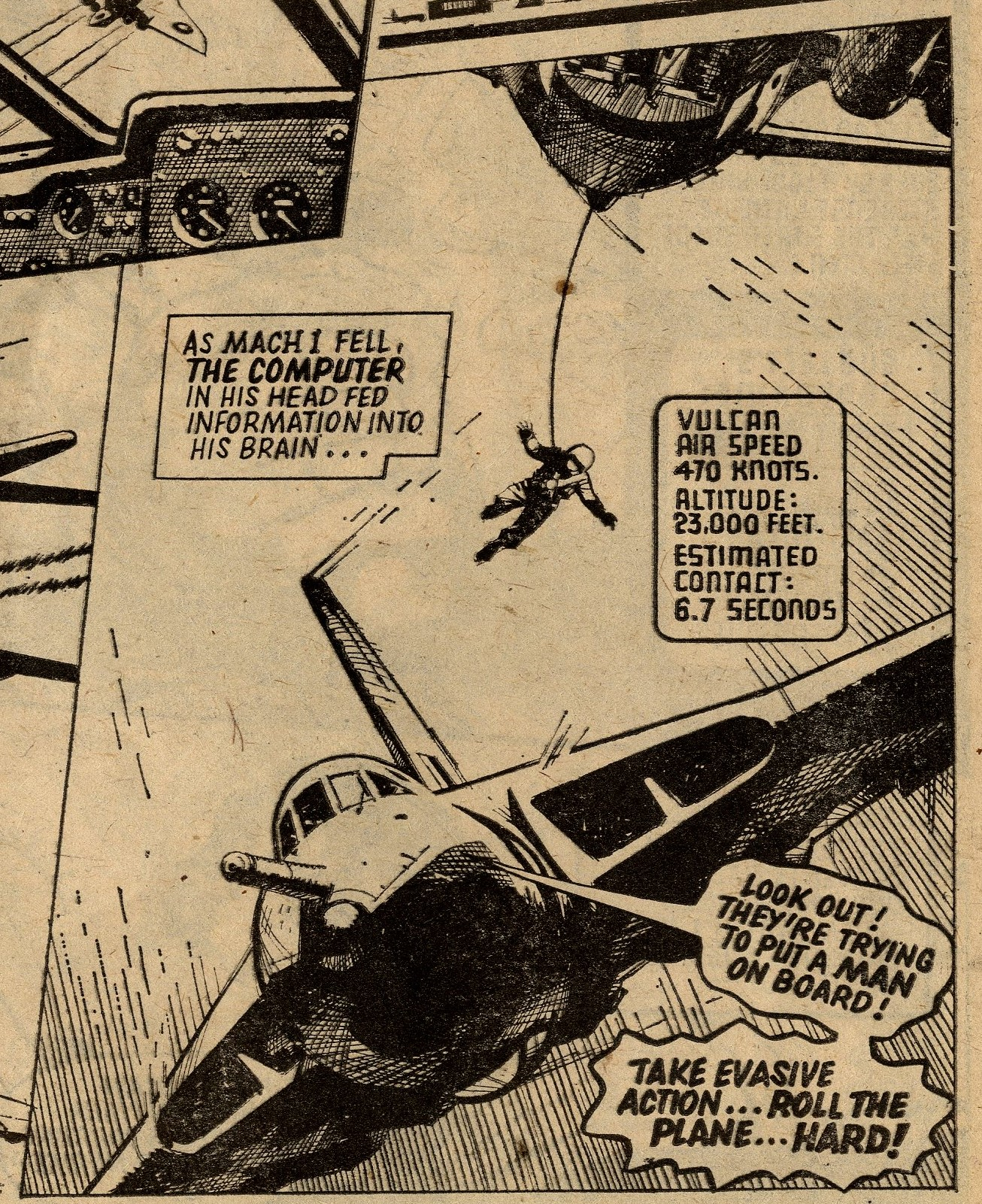 M.A.C.H.1: Robert Flynn (writer), Ian Kennedy (artist)
