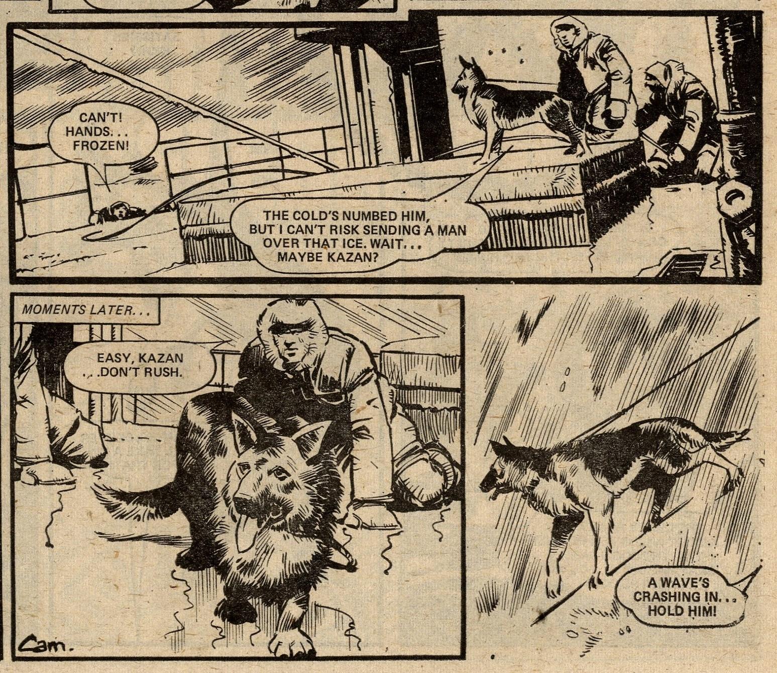 War Dog: Alan Hebden (writer), Cam Kennedy (artist)