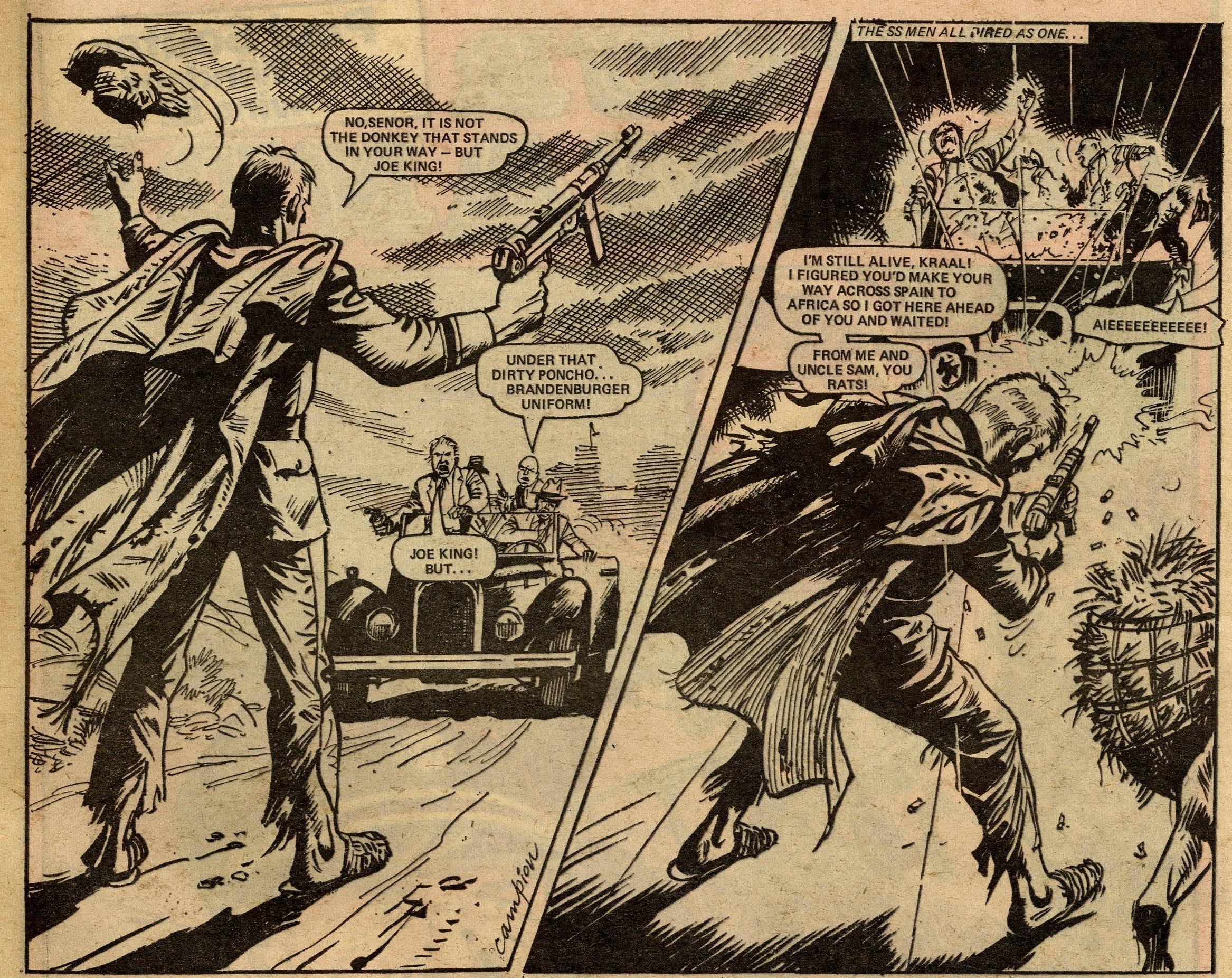 Kommando King: Gerry Finley-Day (writer), Geoff Campion (artist)