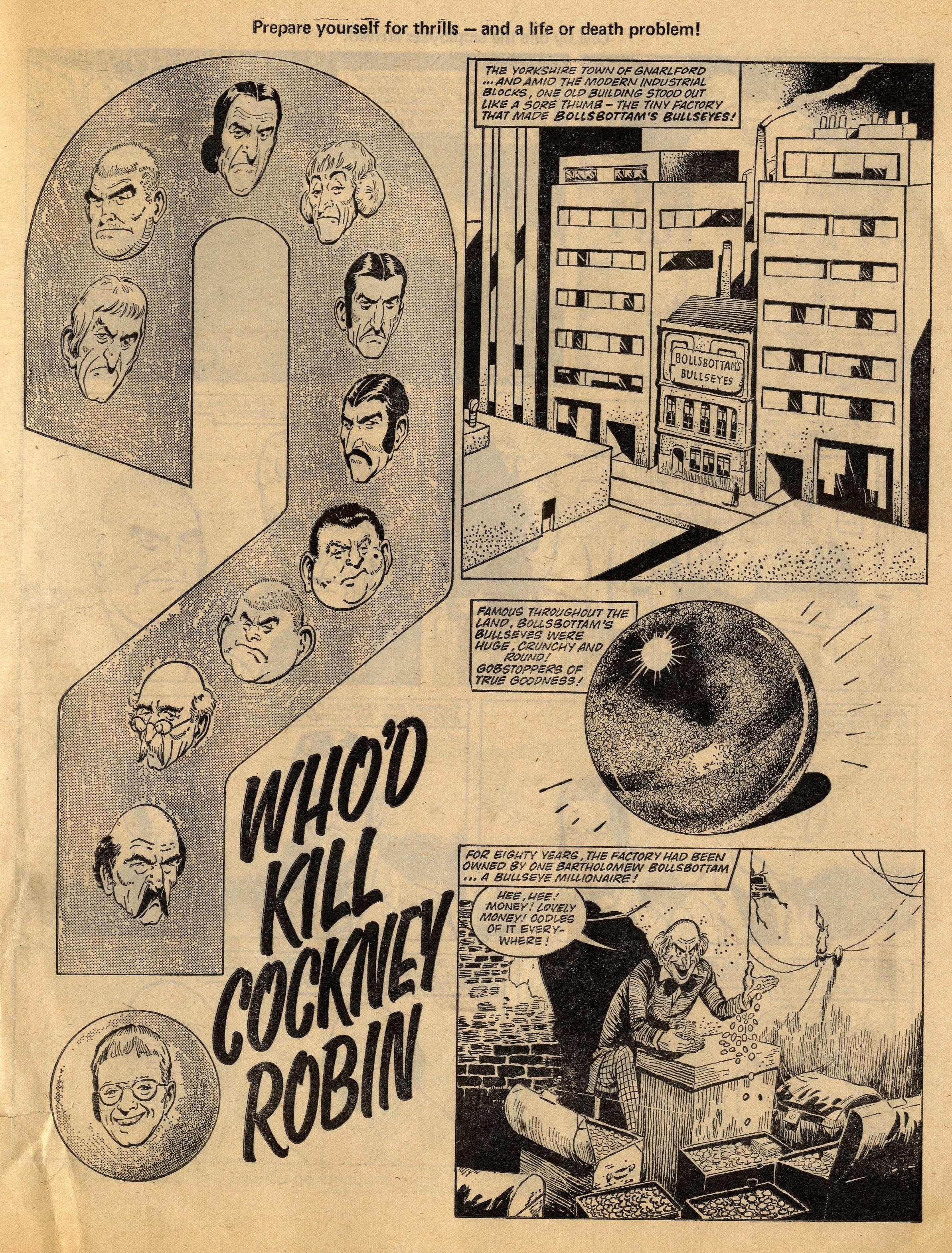 Who'd Kill Cockney Robin: Tom Kerr (artist)