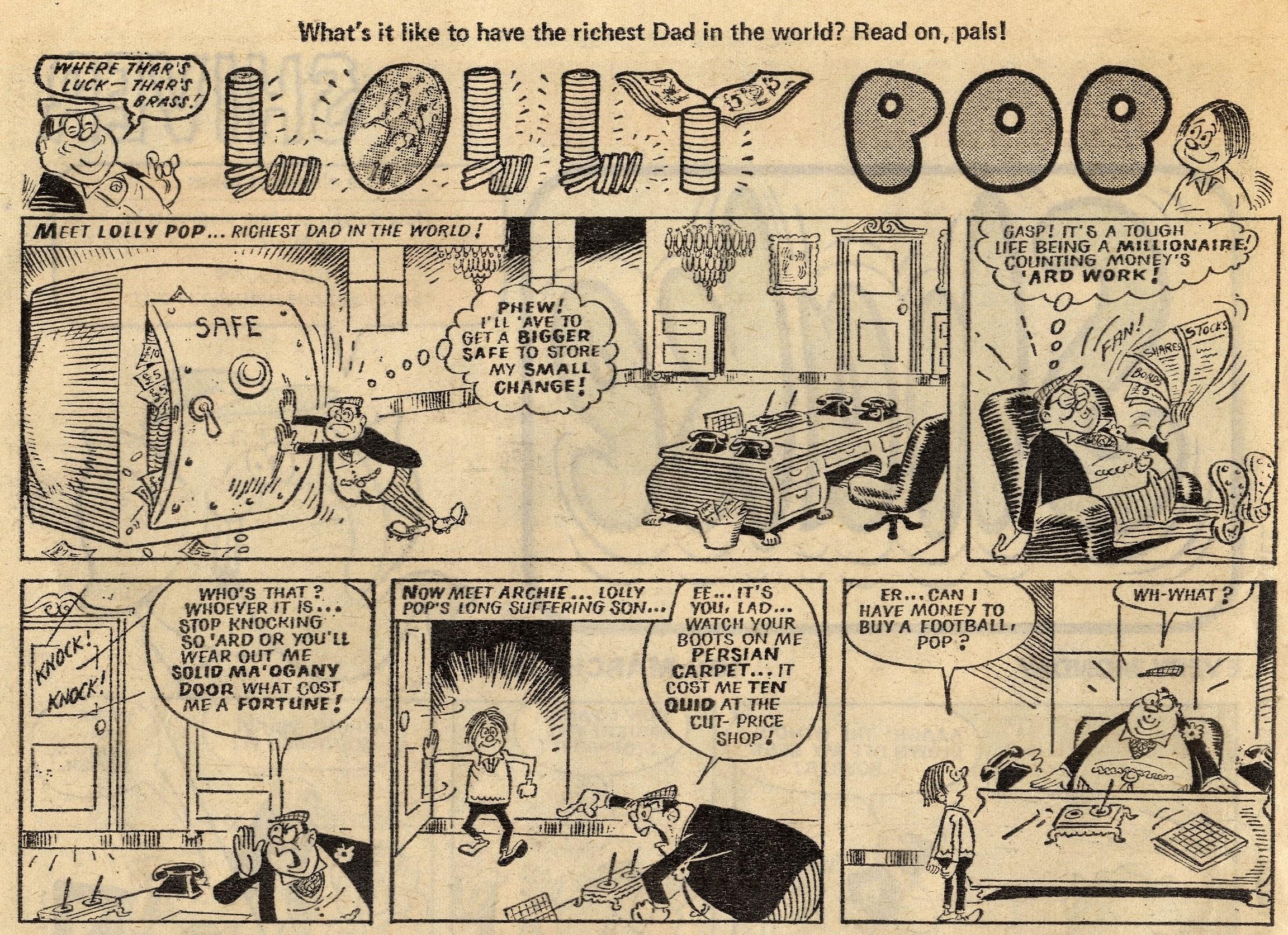 Lolly Pop: Reg Parlett (artist)
