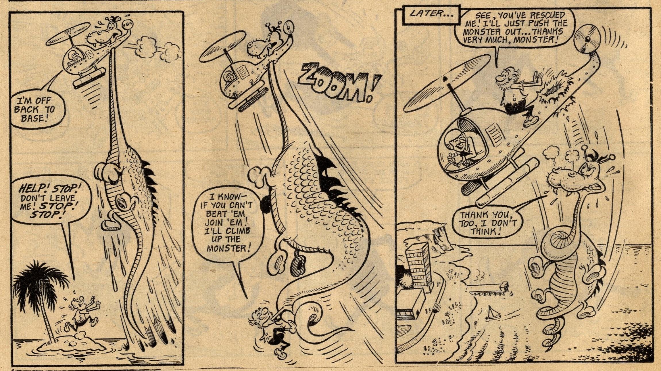 Soggy the Sea Monster: Robert Nixon (artist)