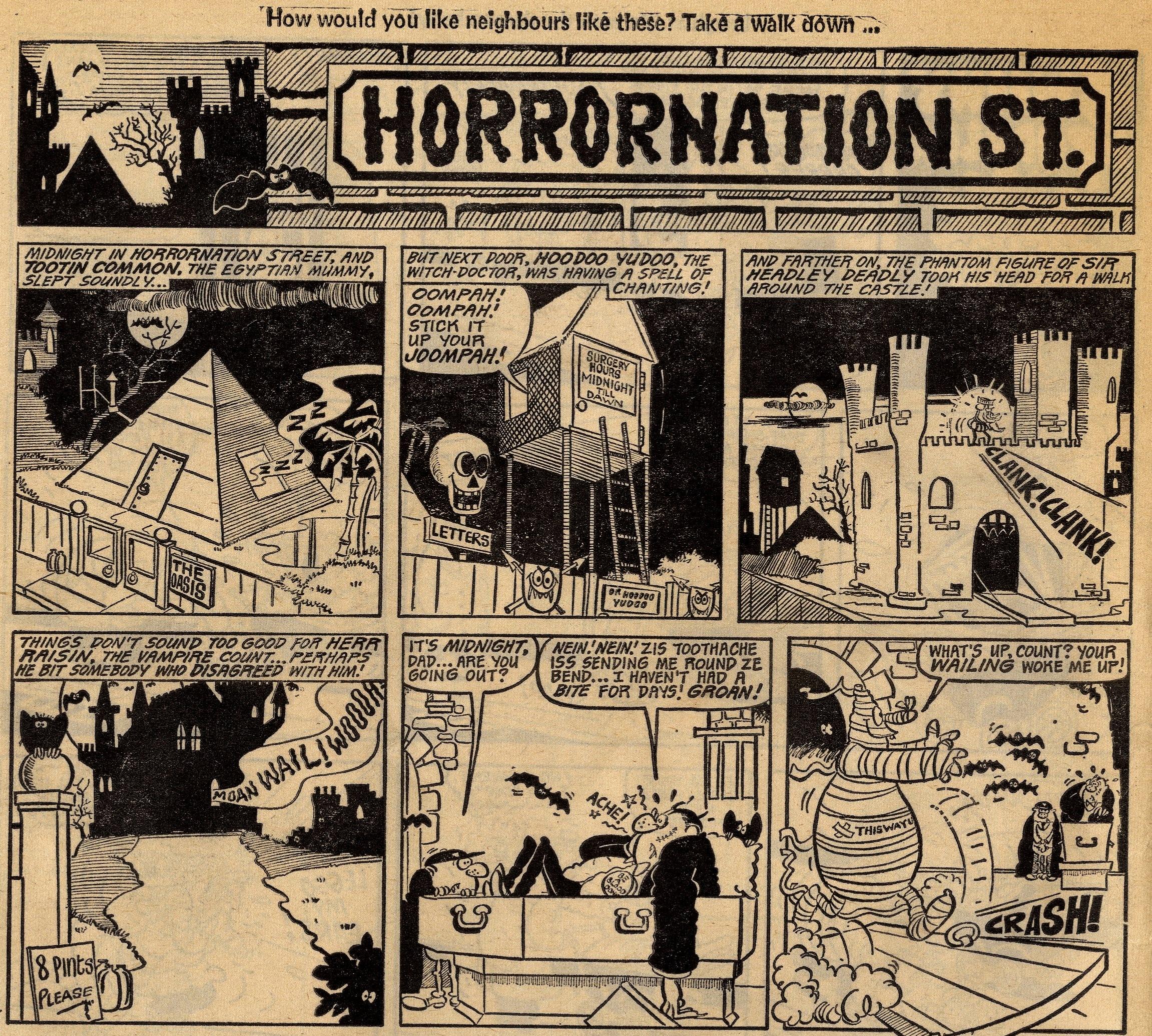 Horrornation St.: Tom Williams (artist)