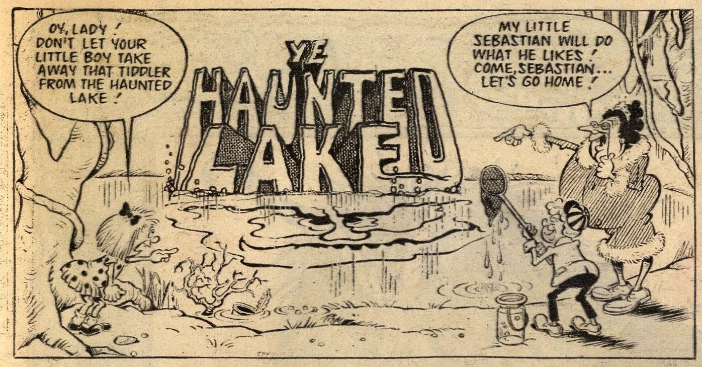 Ye Haunted Lake: Ian Knox? (artist)