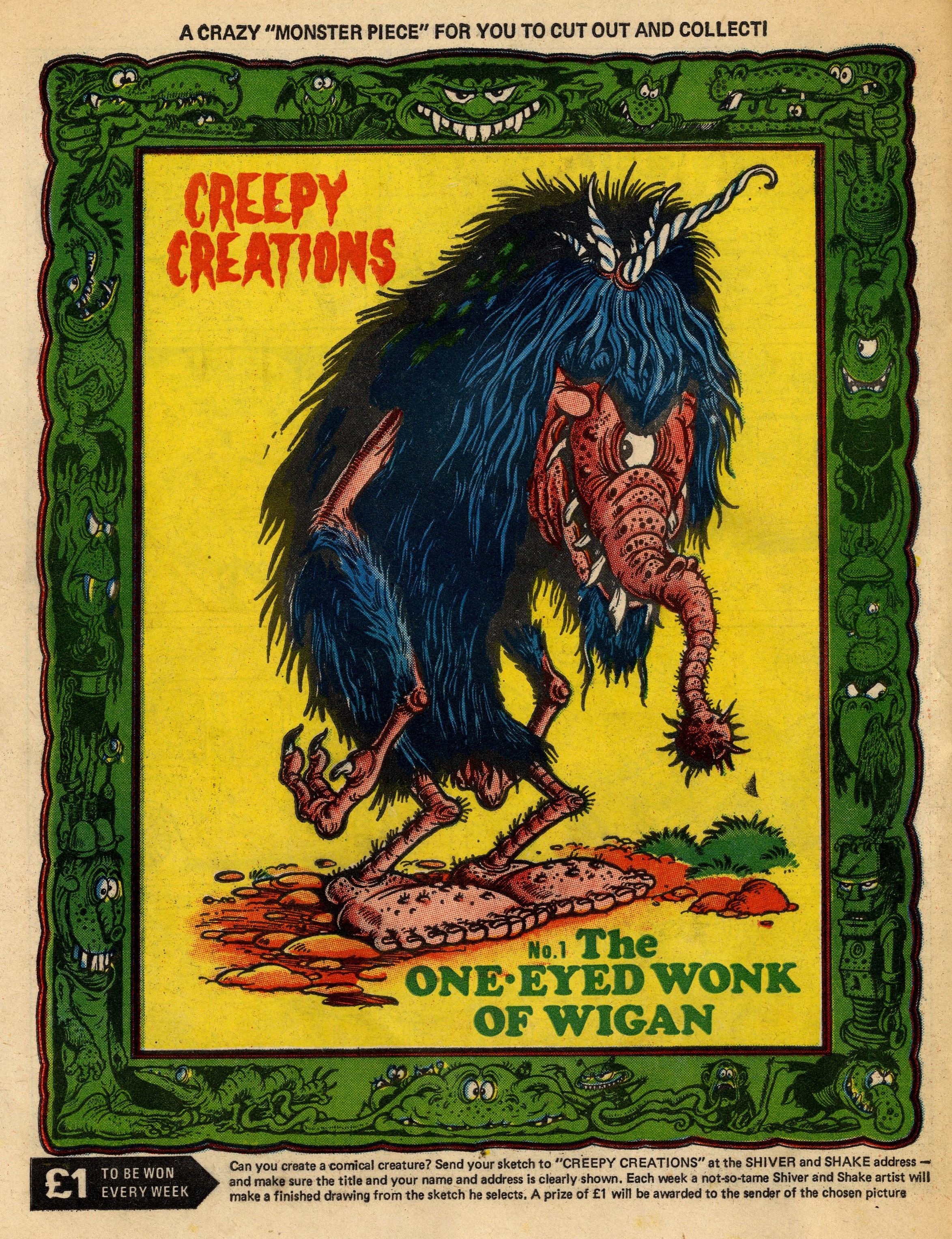Creepy Creations: Ken Reid (artist)