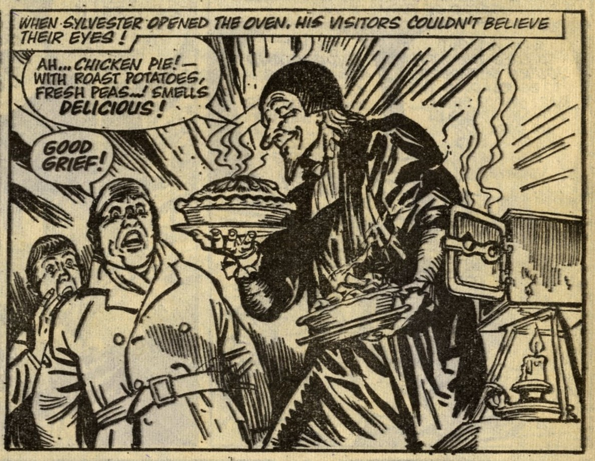 The Spellbinder: Frank Pepper (writer), Geoff Campion (artist)