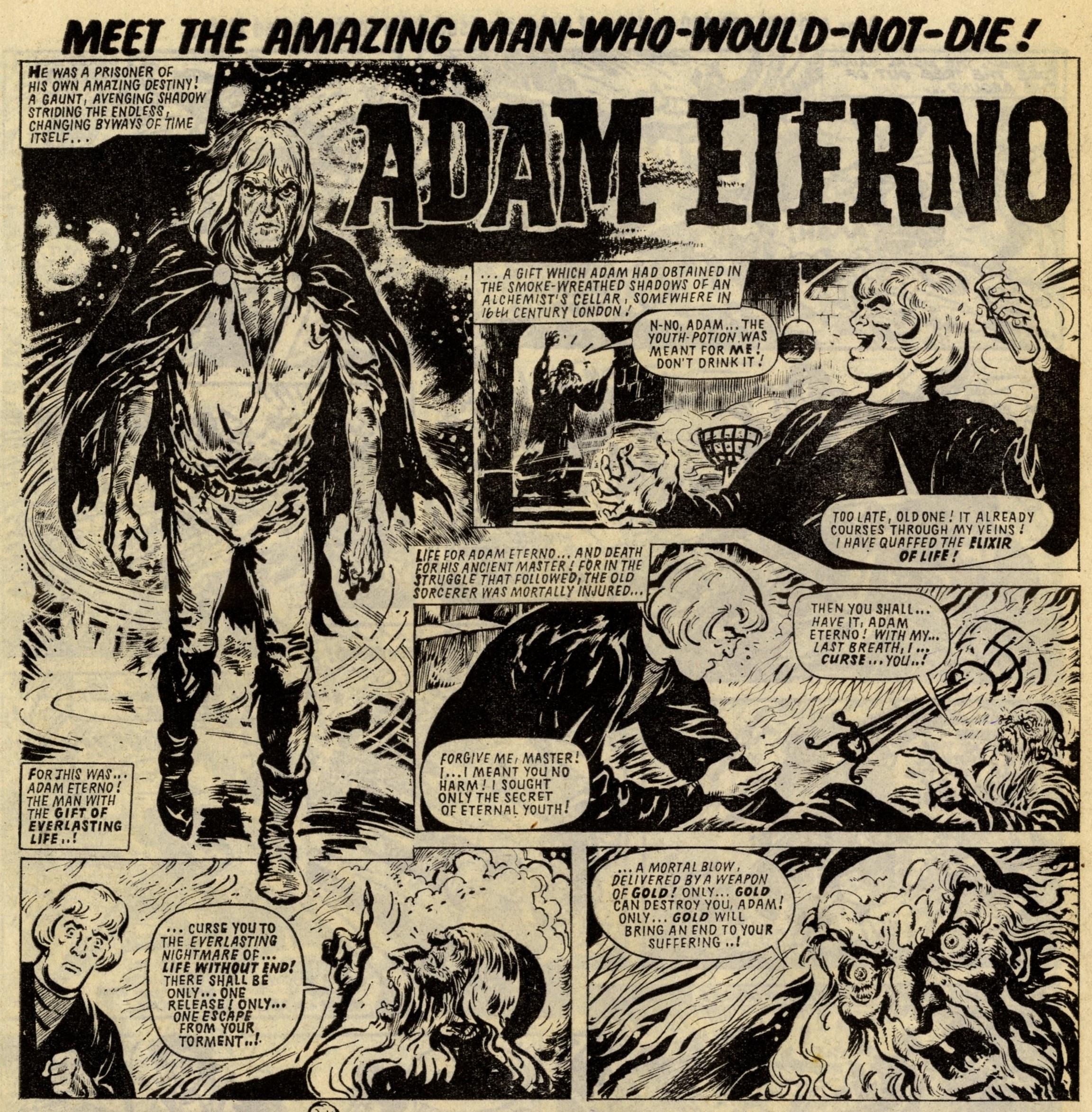 Adam Eterno: Solano Lopez (artist)