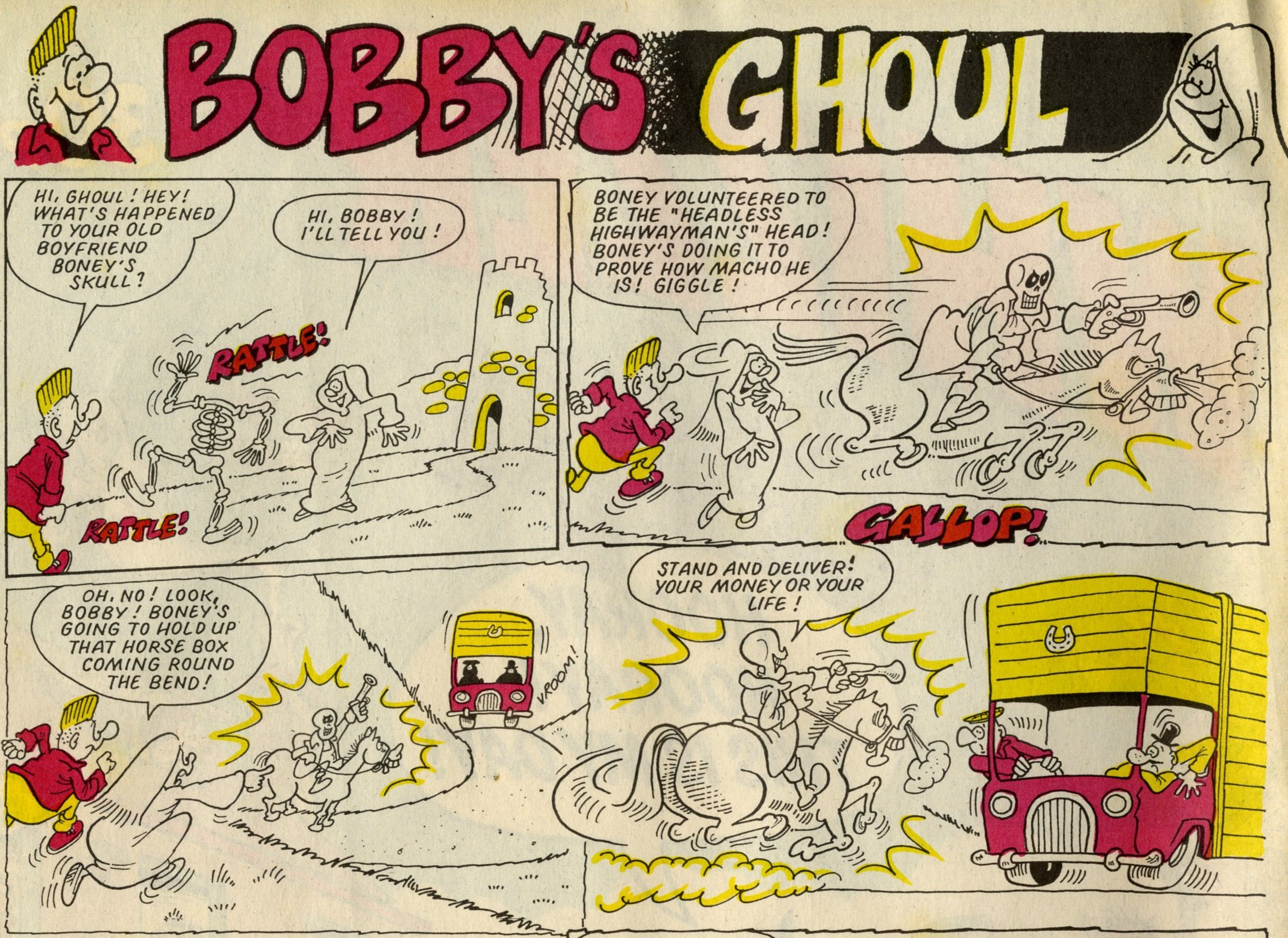 Bobby's Ghoul: Anthony Hutchings (artist)