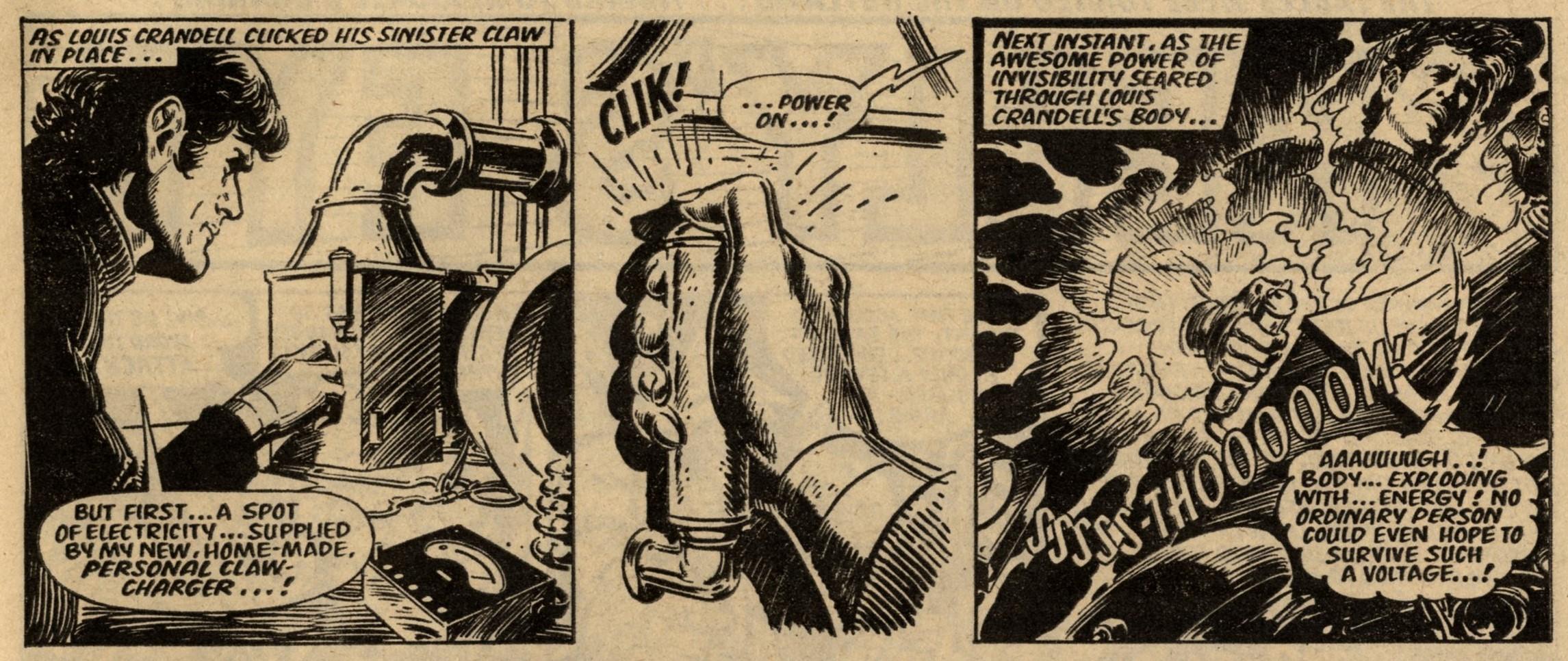 The Return of the Claw: Tom Tully (writer), Jesus Blasco (artist)
