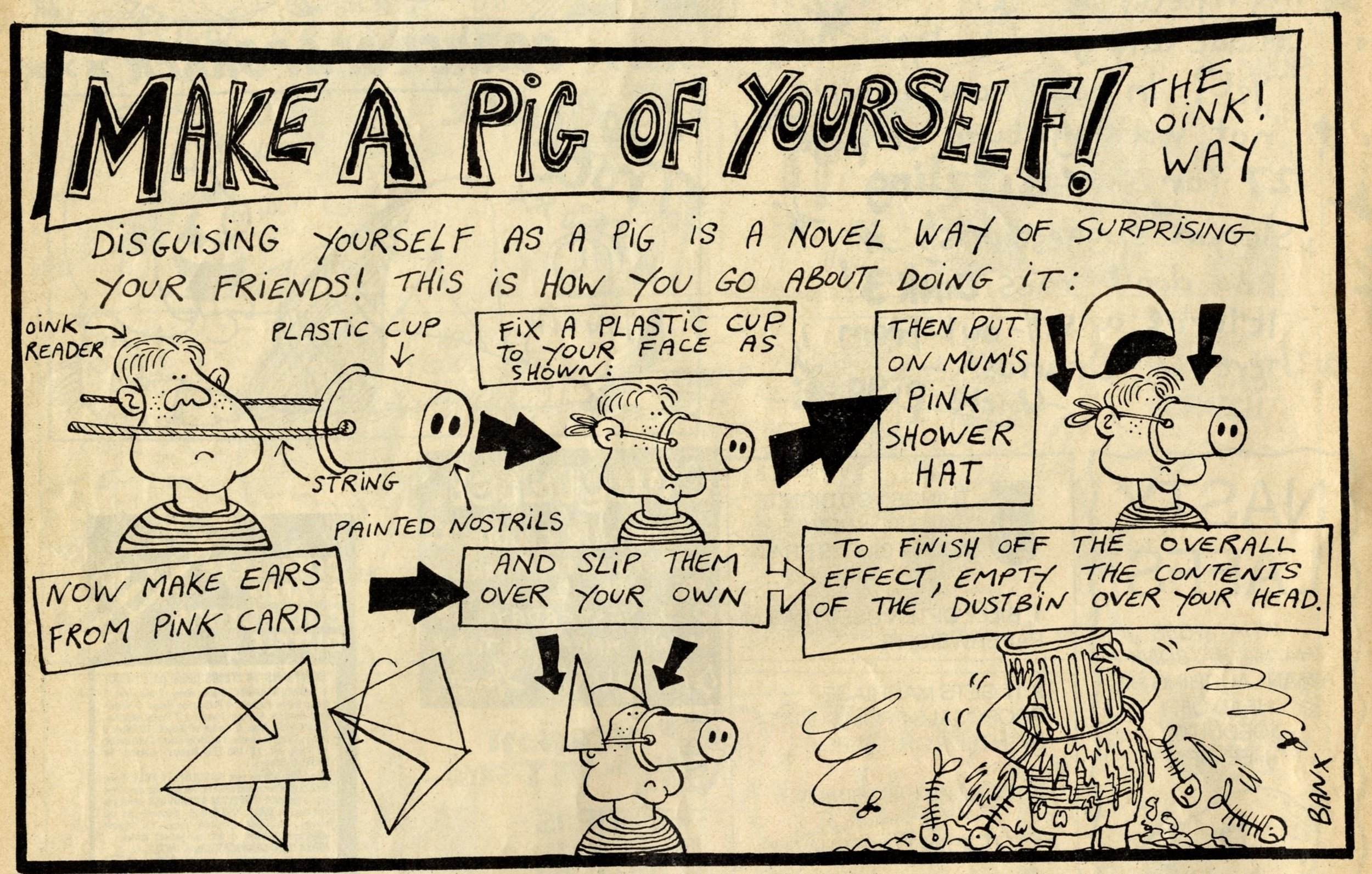 Make a Pig of Yourself: Jeremy Banx (artist)