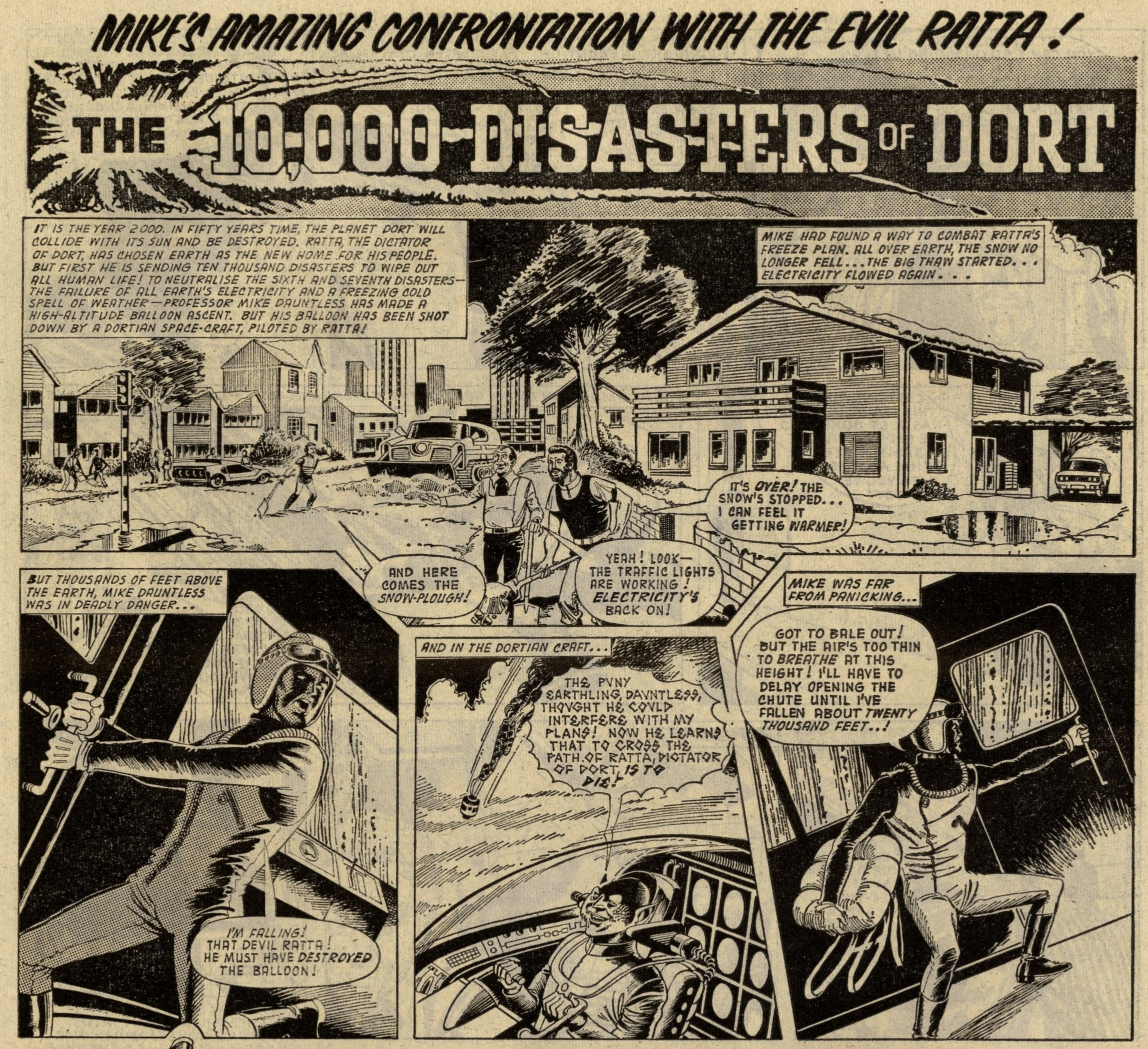The 10,000 Disasters of Dort: creators unknown