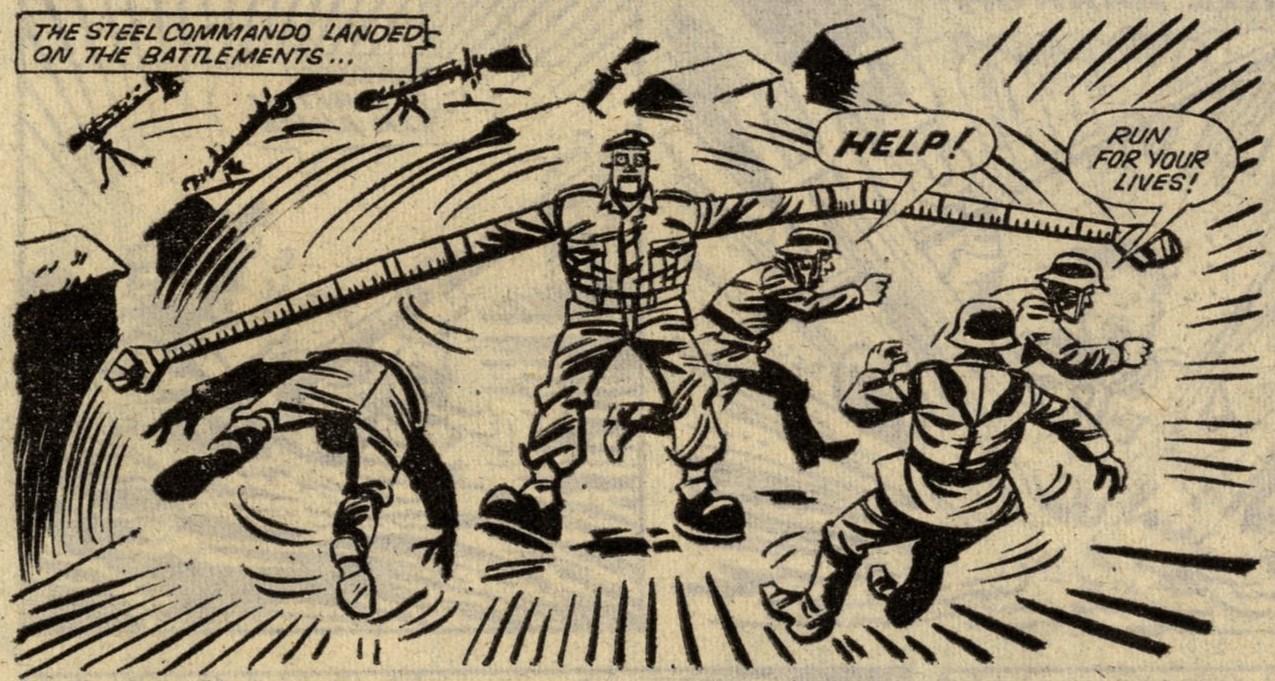Steel Commando: Frank S. Pepper (writer), Alex Henderson (artist)