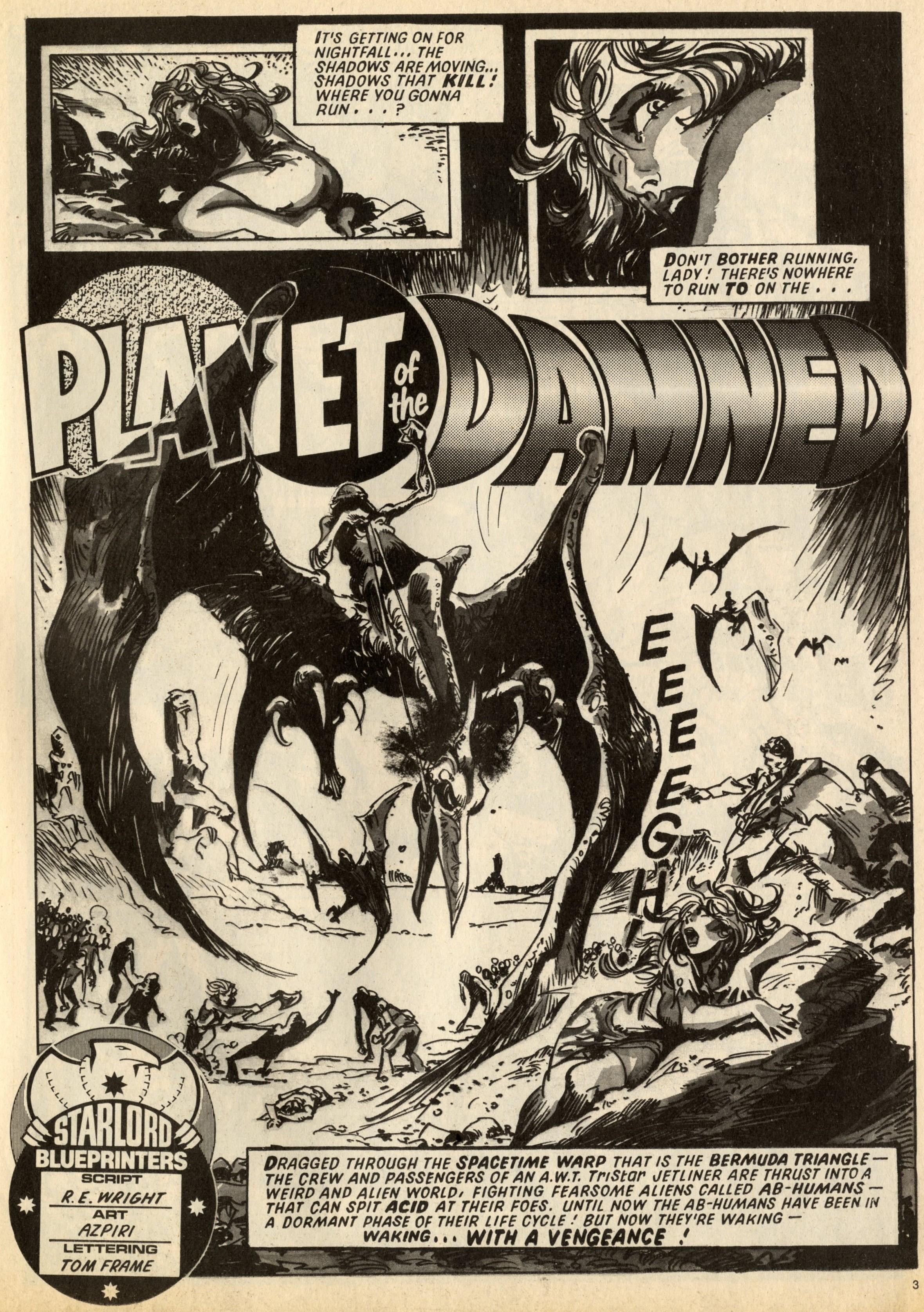 Planet of the Damned: Pat Mills (writer), Alfonso Azpiri (artist)