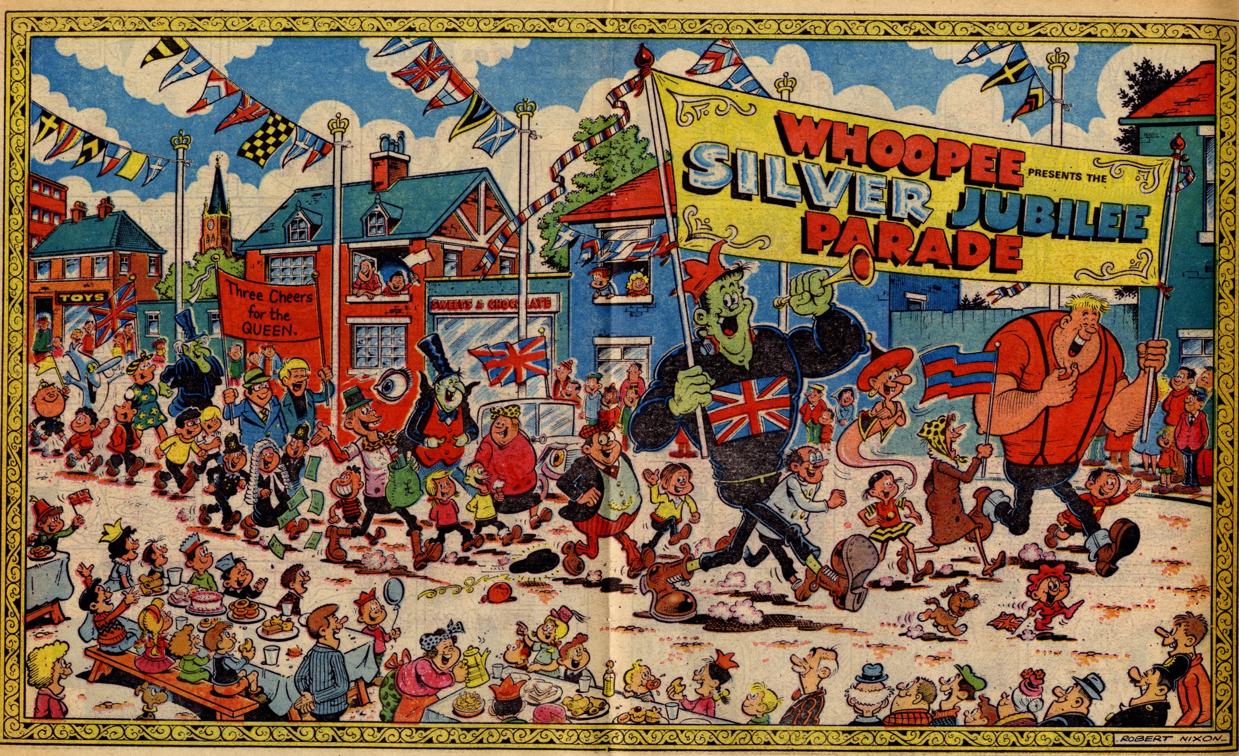 Whoopee Silver Jubilee Parade: Robert Nixon (artist)