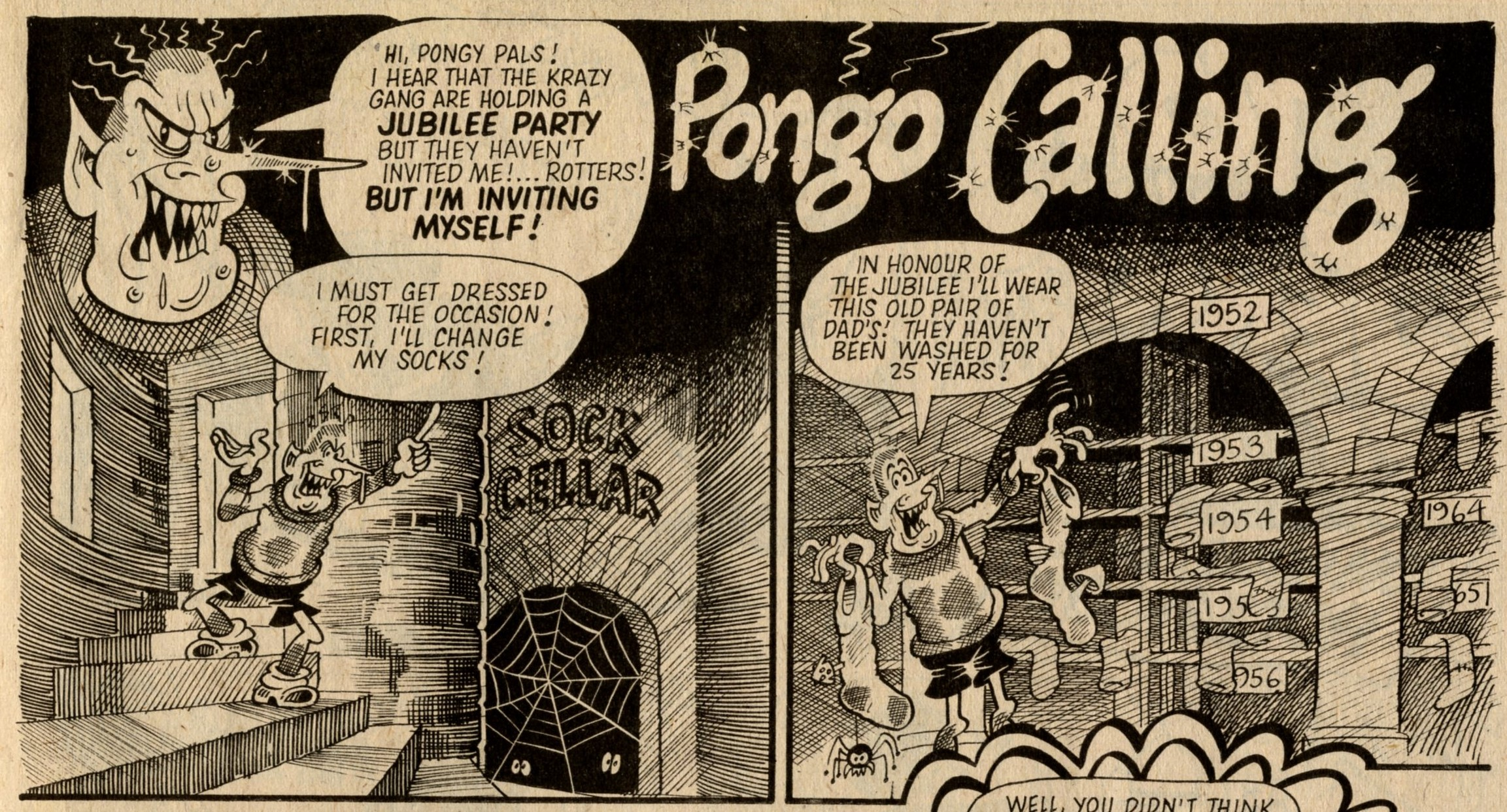 Pongo calling: Ian Knox (artist)