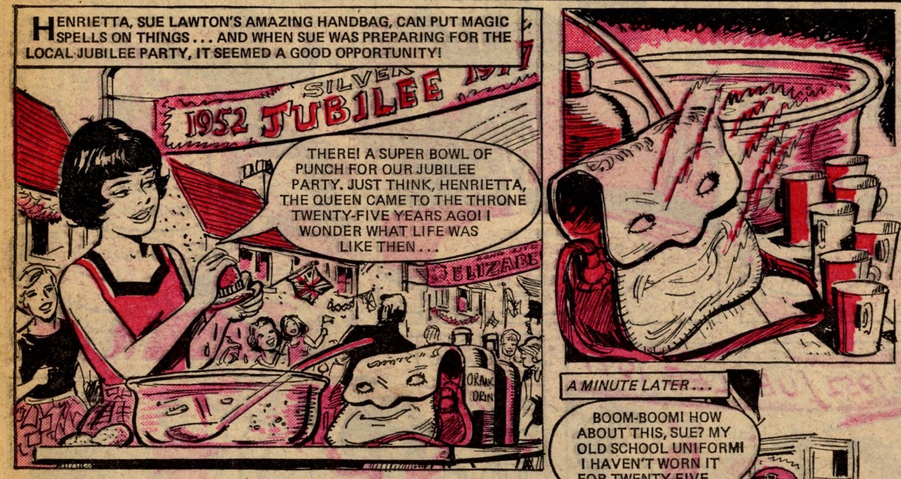 Sue's Fantastic Funbag: Hugh Thornton Jones (artist)