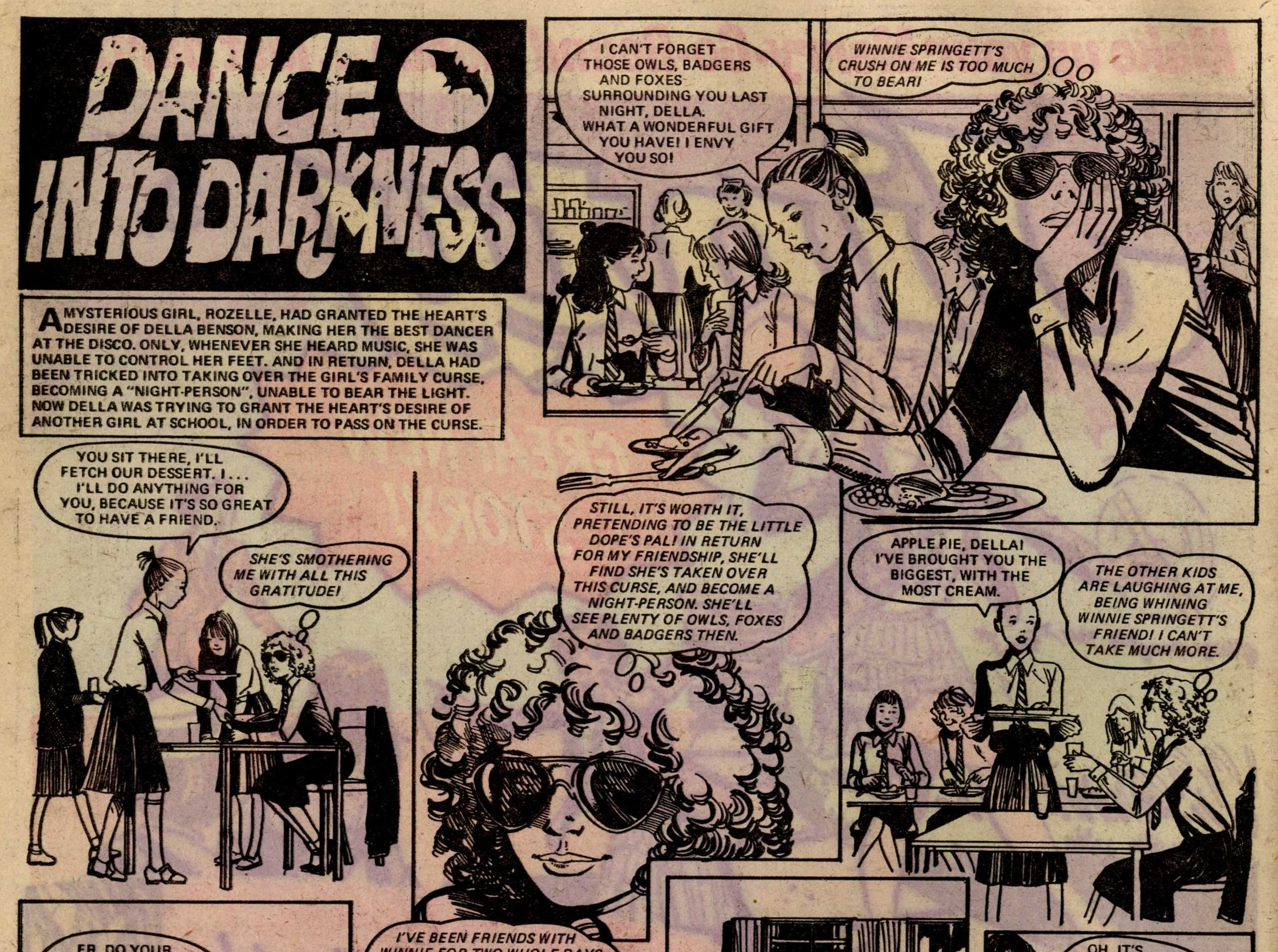 Dance into Darkness: creators unknown