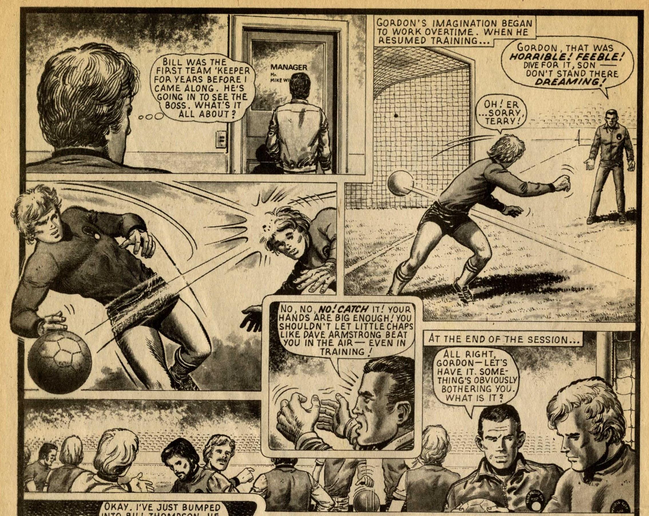 The Safest Hands in Soccer: Gil Page (writer), Osvaldo Torta (artist)
