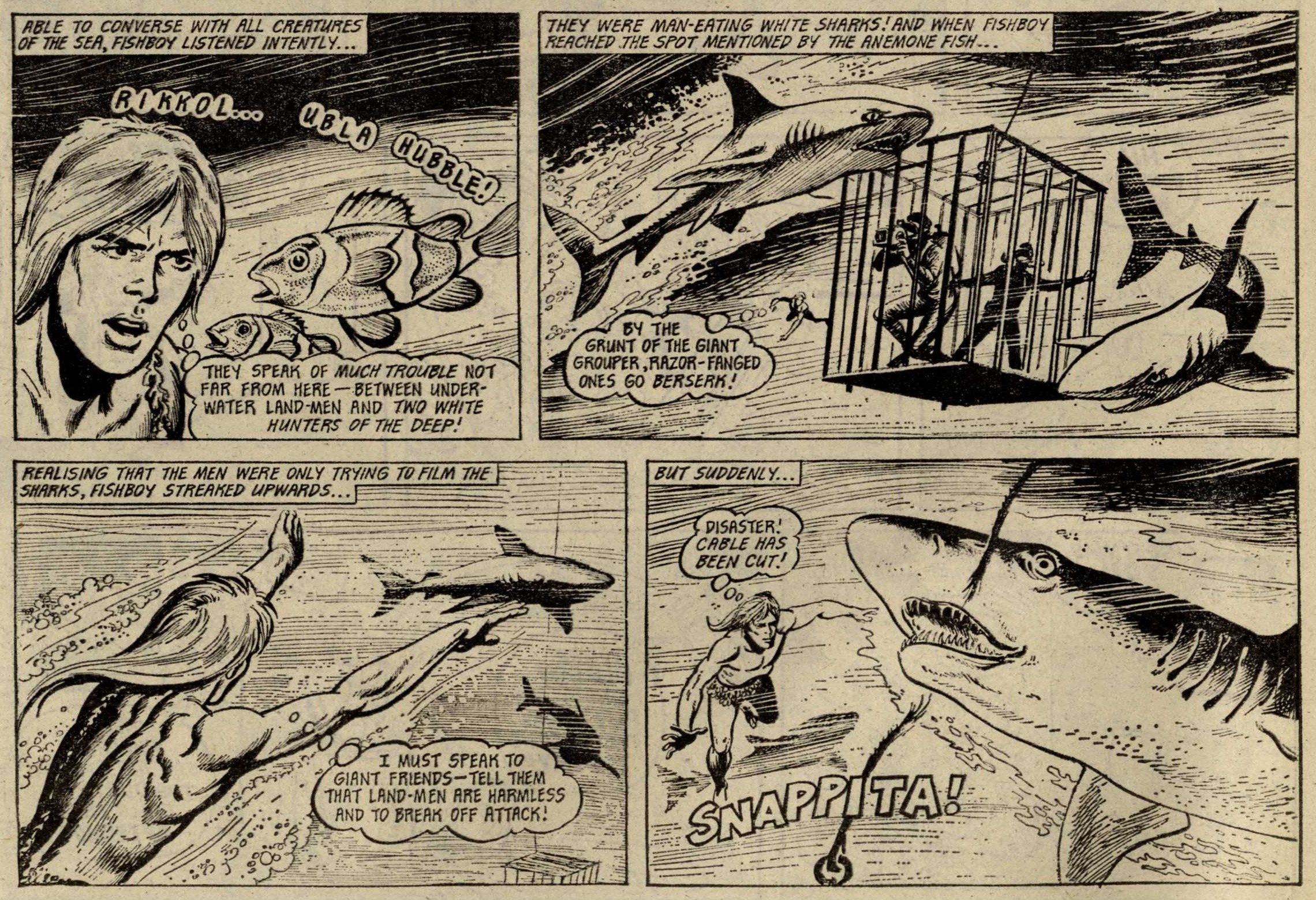 Fishboy: Scott Goodall (writer), John Stokes (artist)