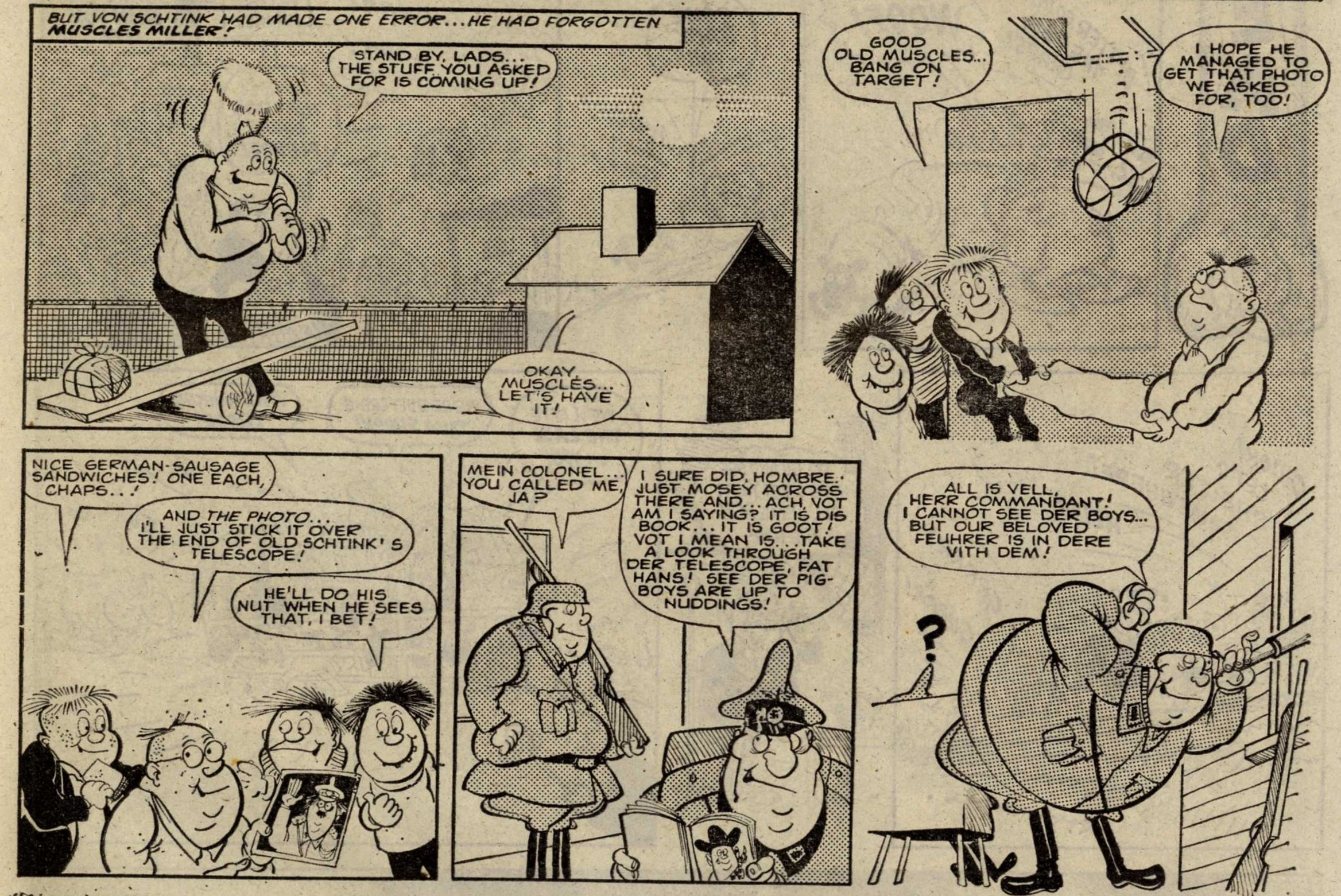 The Kids of Stalag 41: Tony Goffe (artist)