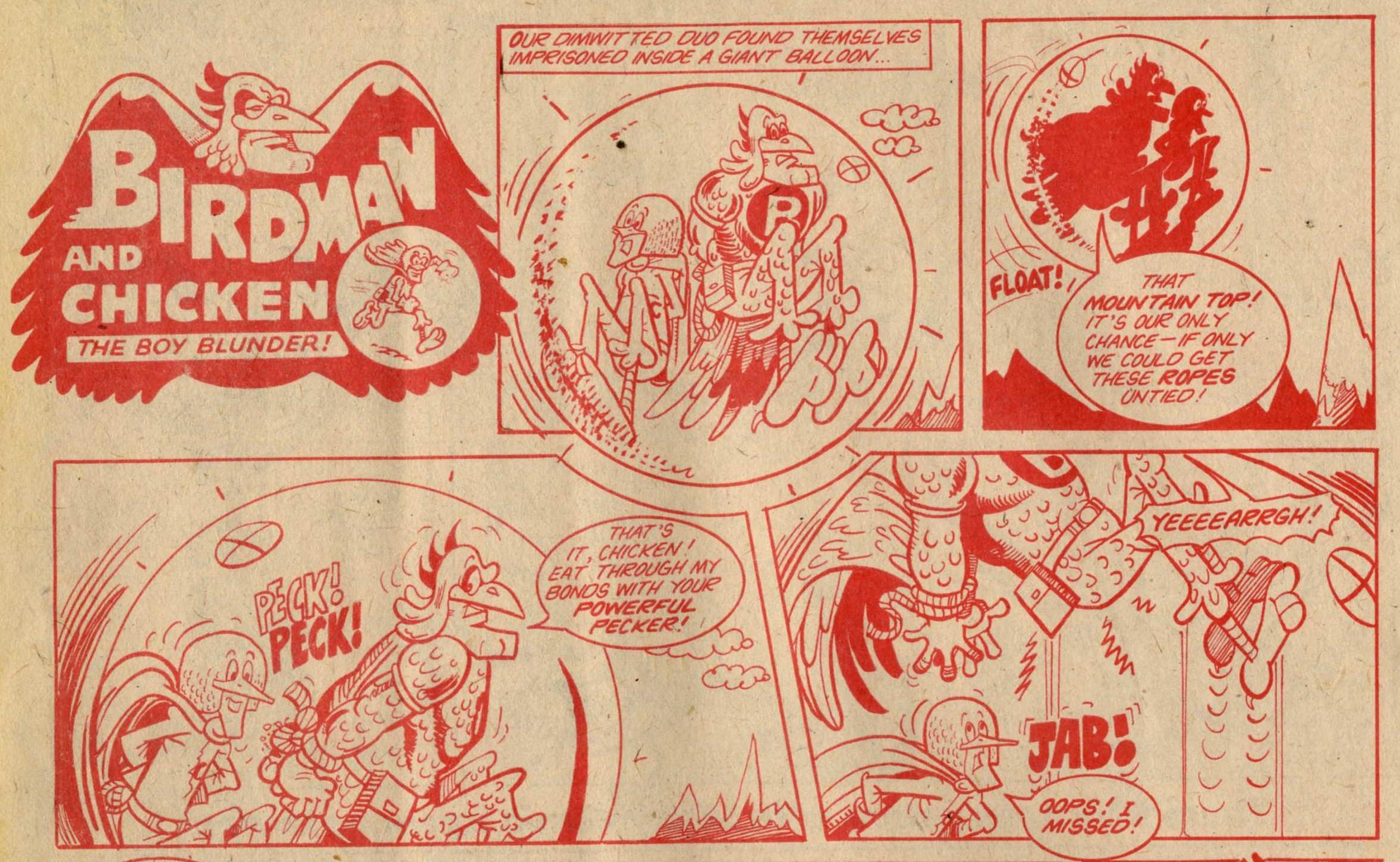 Birdman and Chicken: Tom Williams (artist)