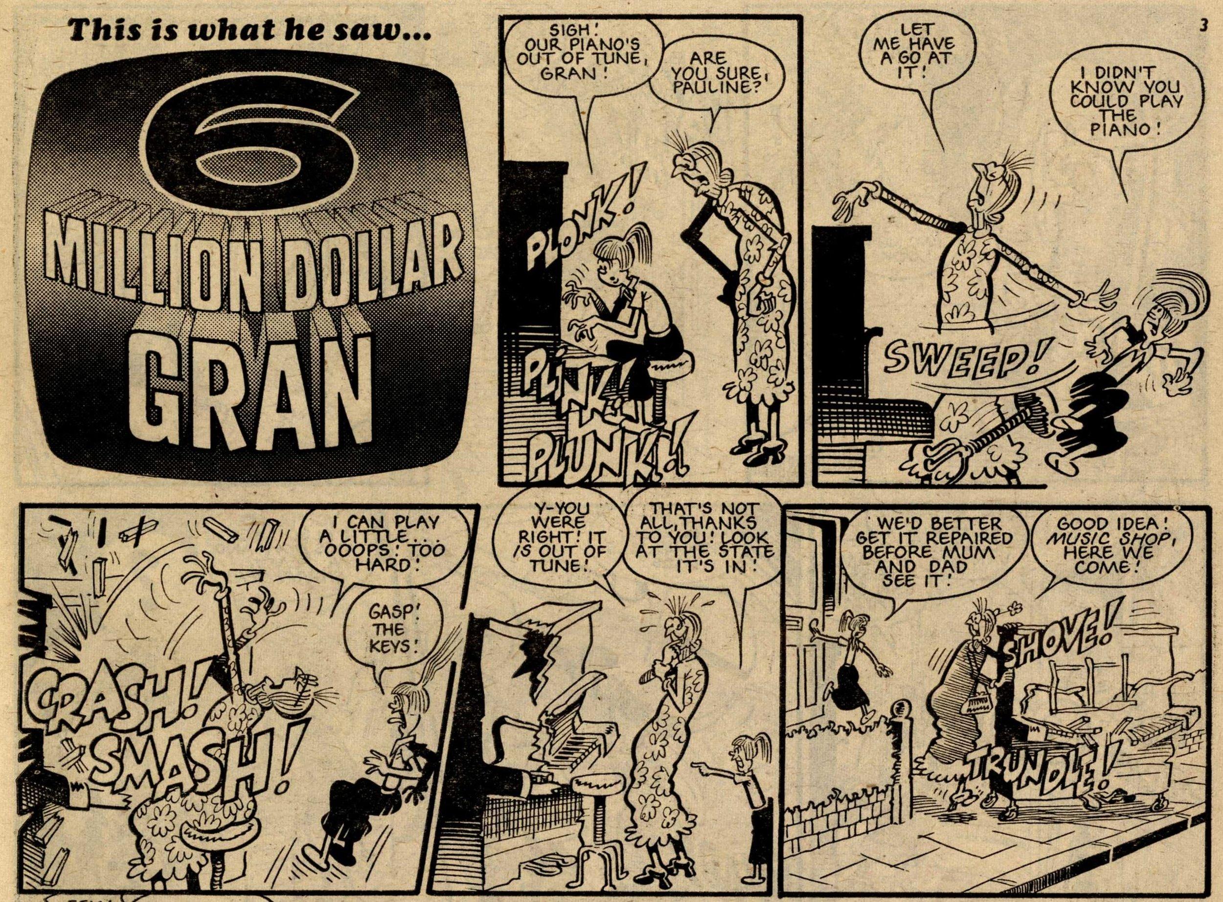 6 Million Dollar Gran: Ian Knox (artist)