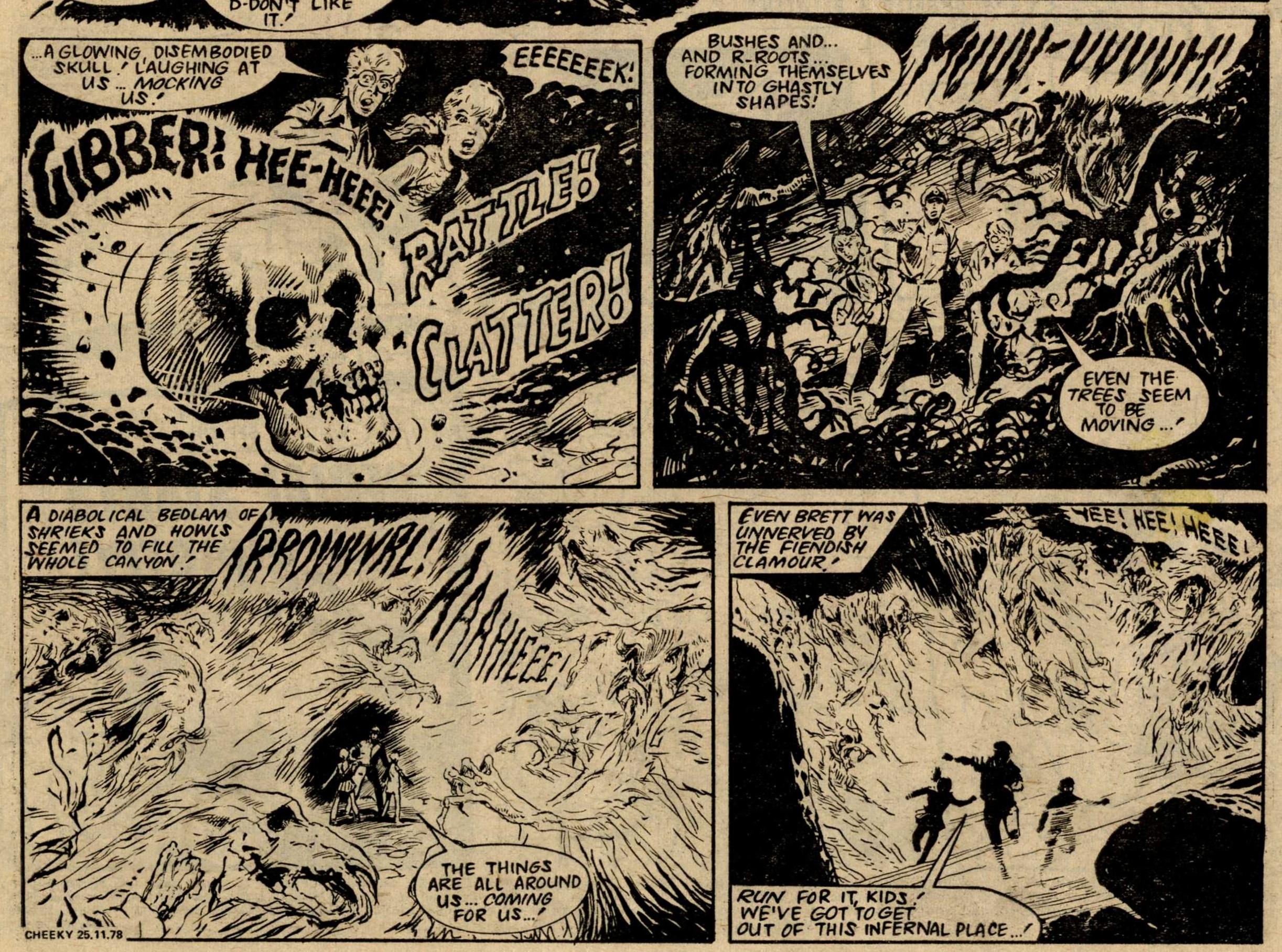 The Terrible Trail to Taggart's Treasure: Eric Bradbury (artist)
