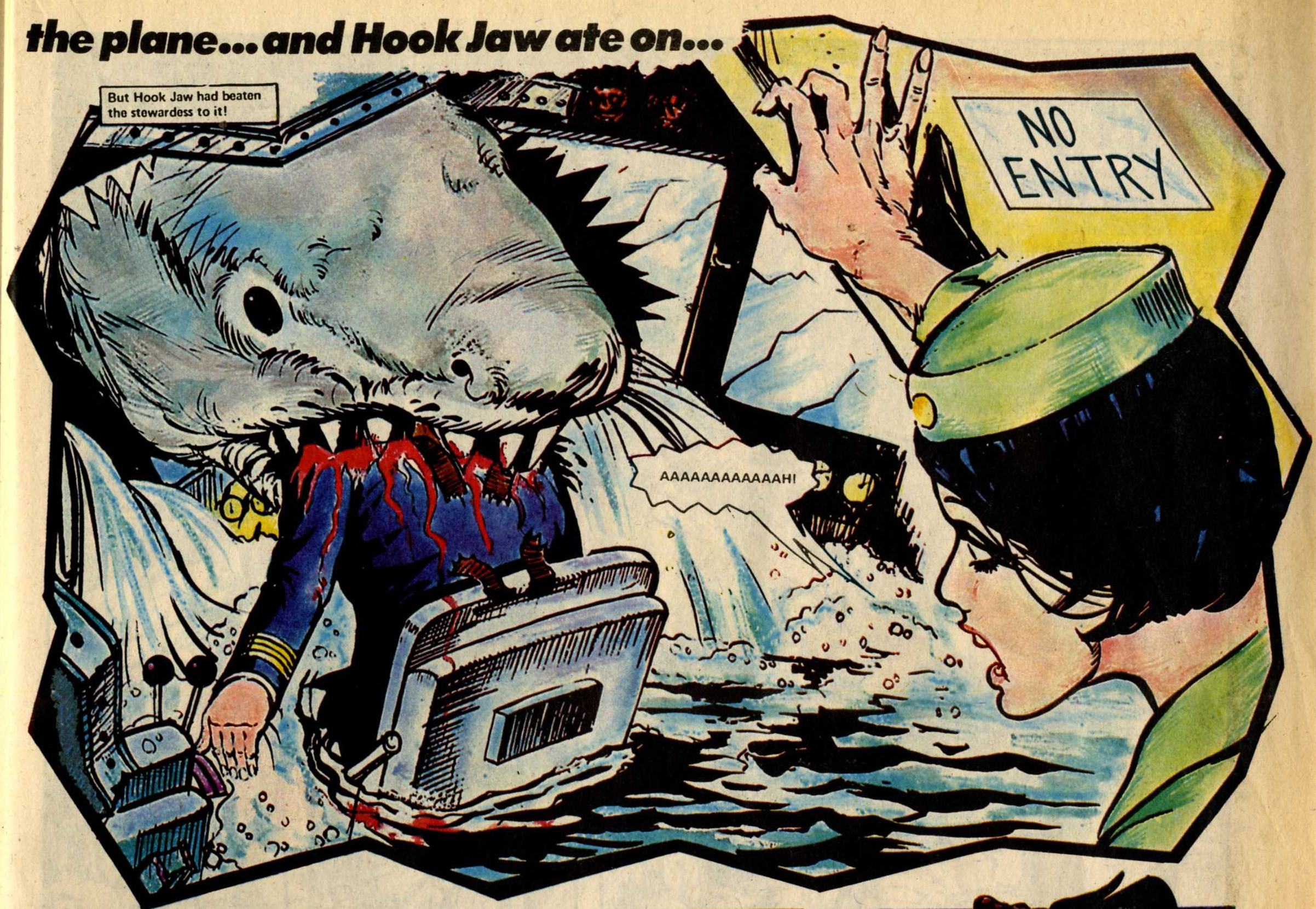 Hook Jaw, drawn by Ramon Sola
