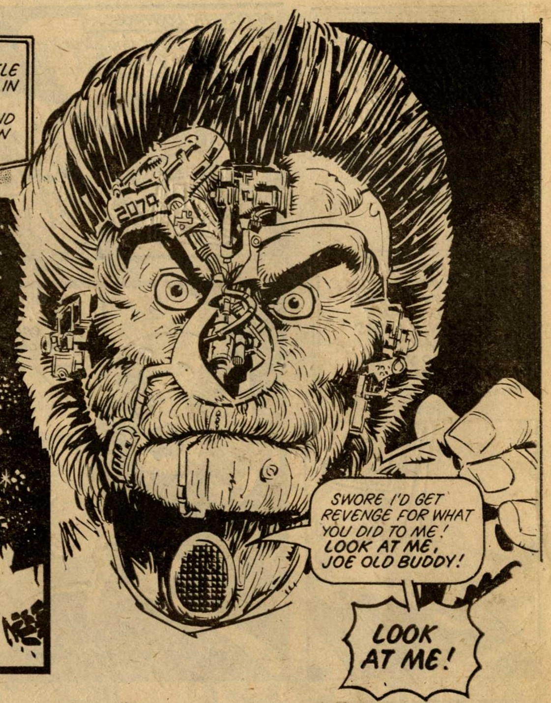 Rico, drawn by Mike McMahon