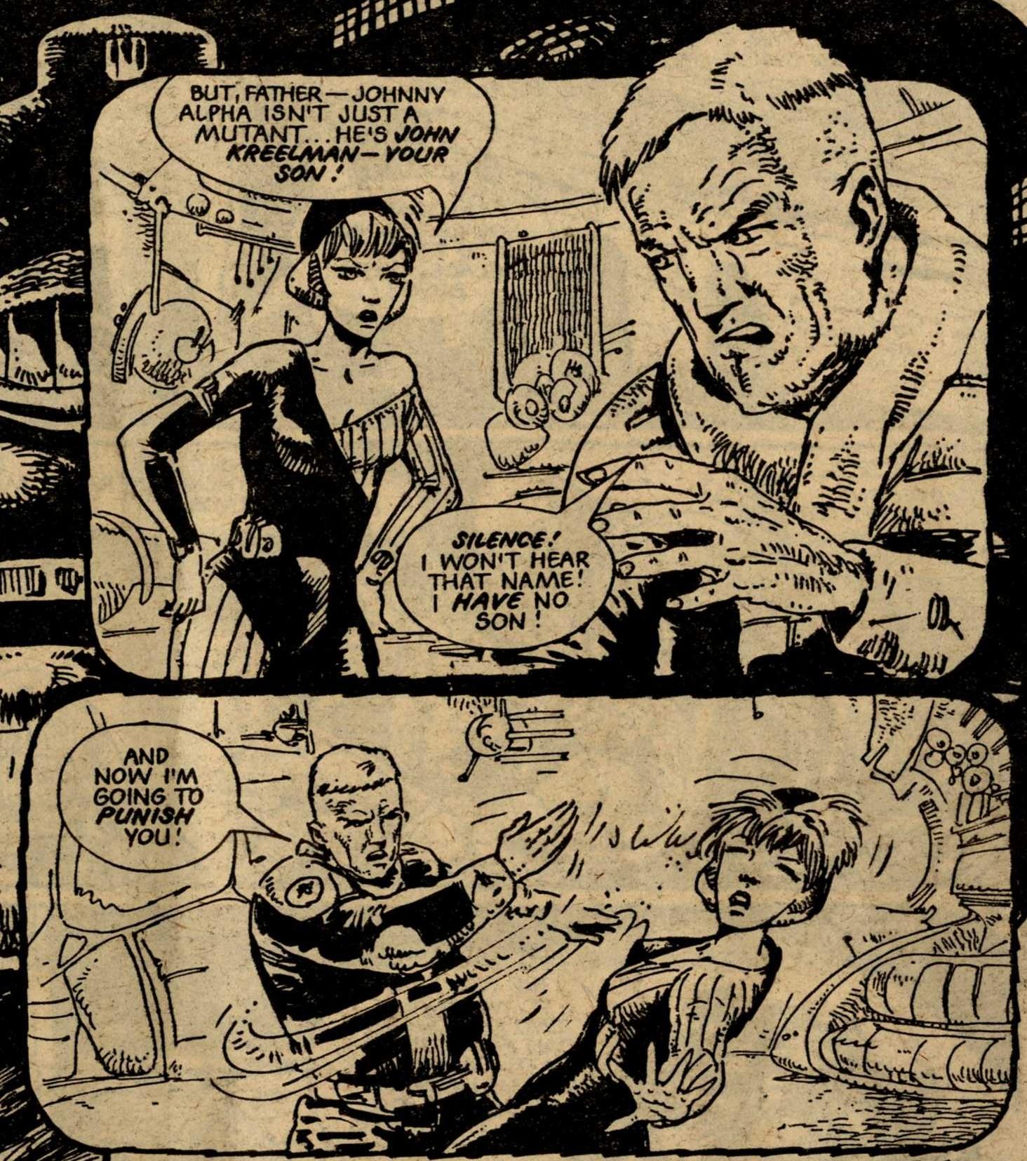 Nelson Bunker Kreelman, drawn by Carlos Ezquerra