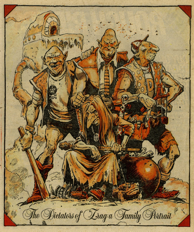 The Dictators of Zrag, drawn by Eric Bradbury