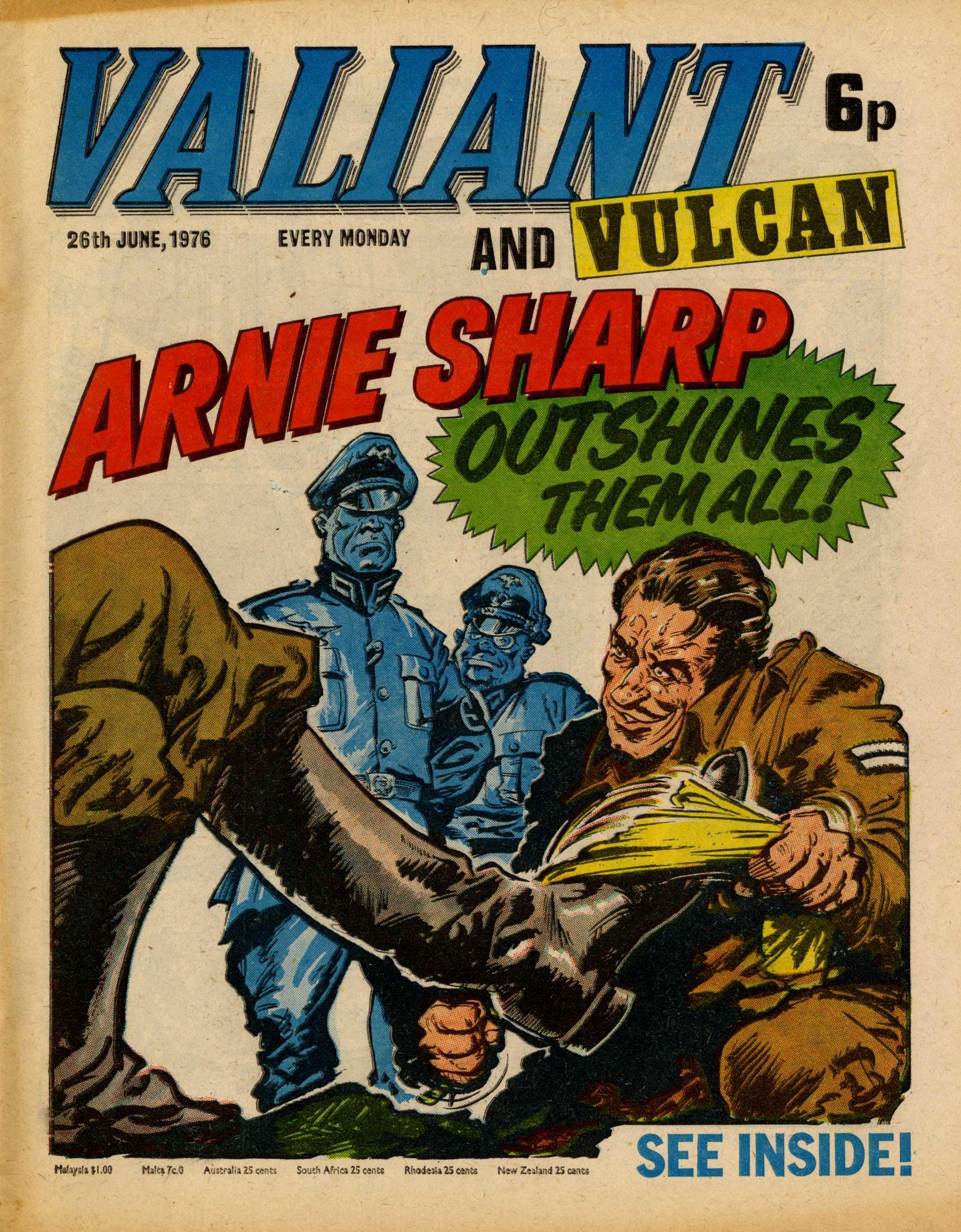 Soldier Sharp, drawn by Jim Watson