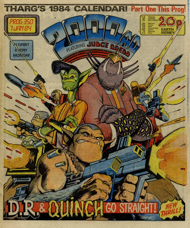 D.R. & Quinch, drawn by Alan Davis