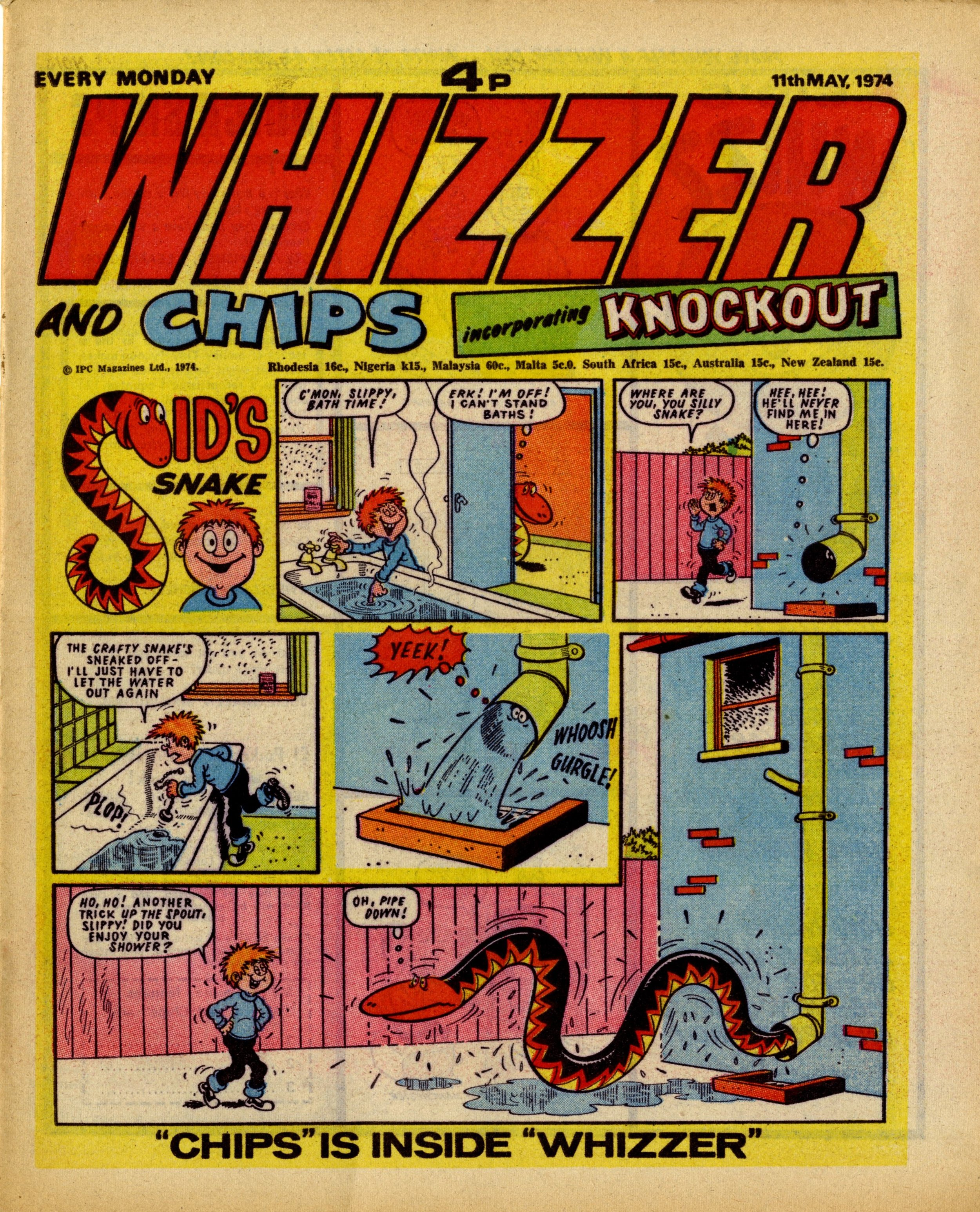 On this day, 11 May 1974: Whizzer and Chips incorporating