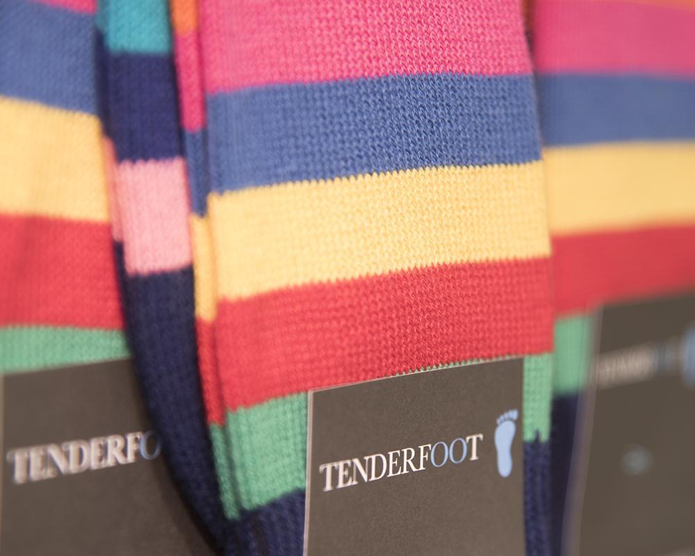 Multi coloured Tenderfoot socks.jpg