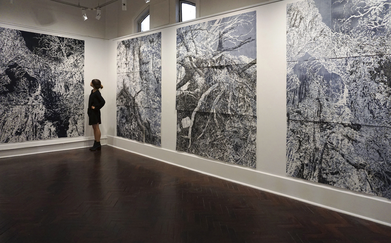 'Ghosts', 2018, solo exhibition, Flinders Lane Gallery, Melbourne