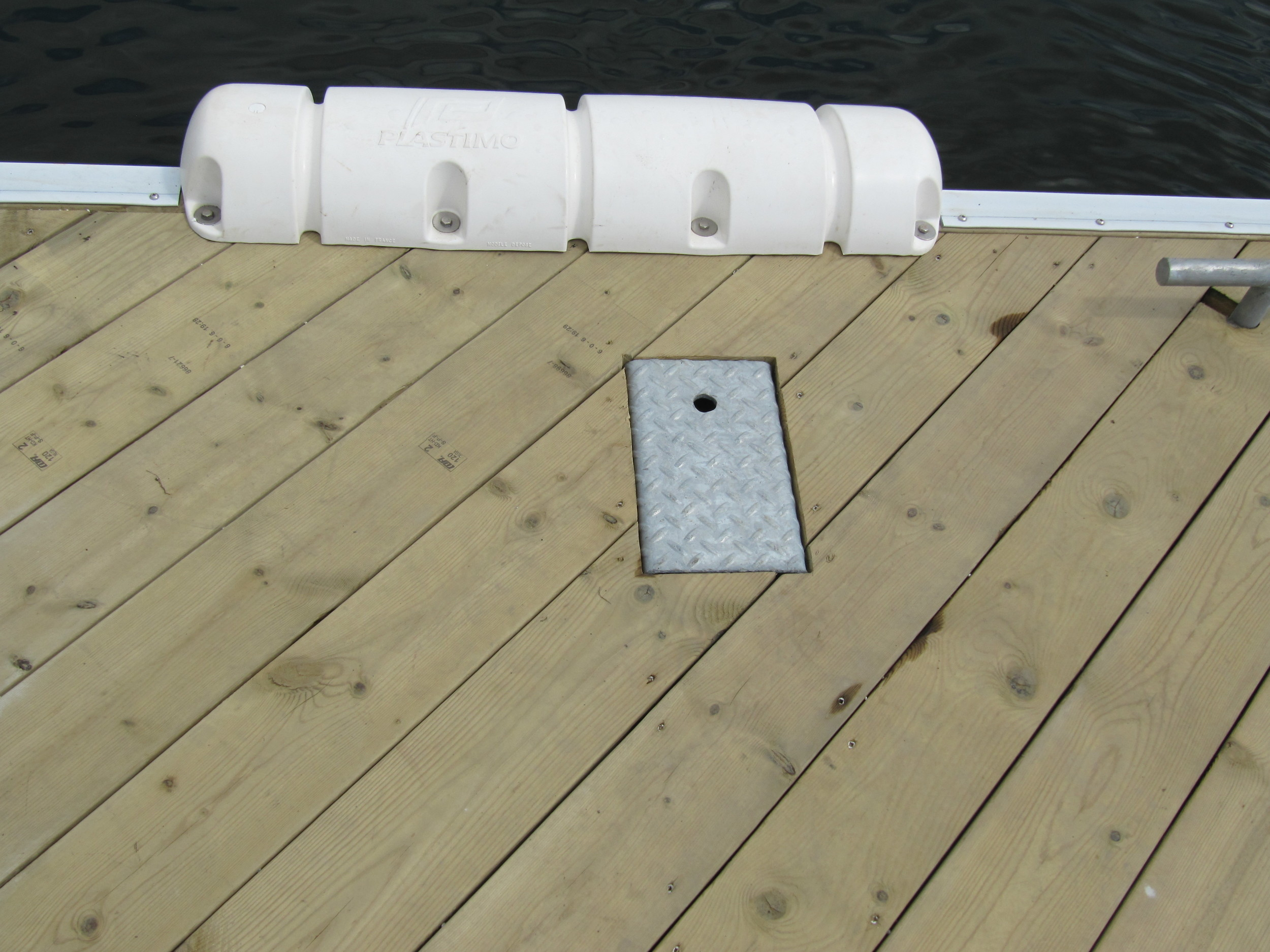 Galvanized Anchor Chain System Cover Plate