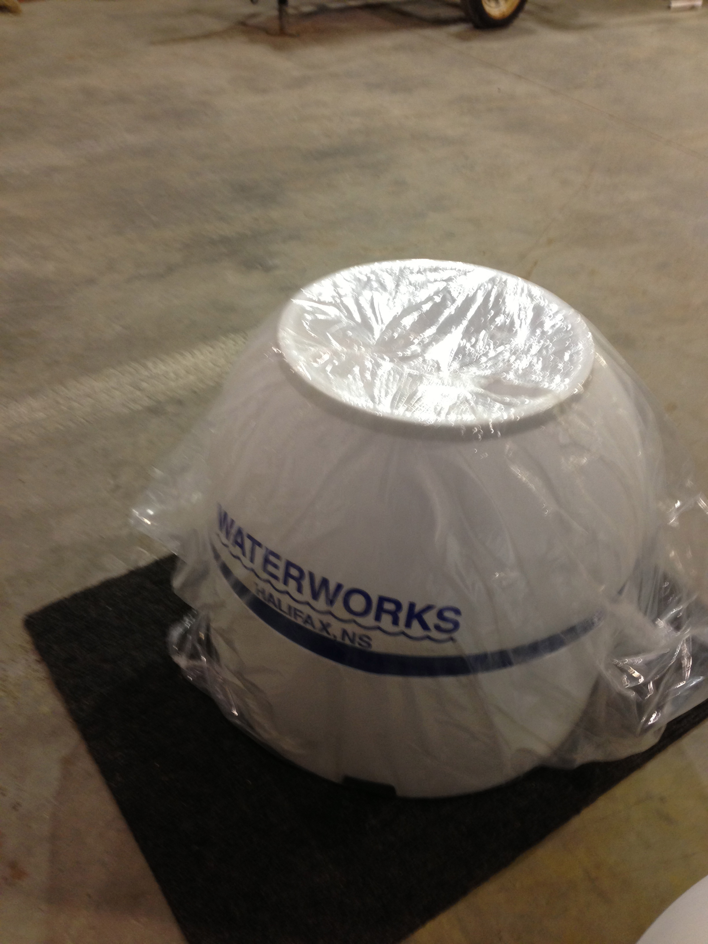 Mooring Buoy with Dry Pendant Line Storage - 2