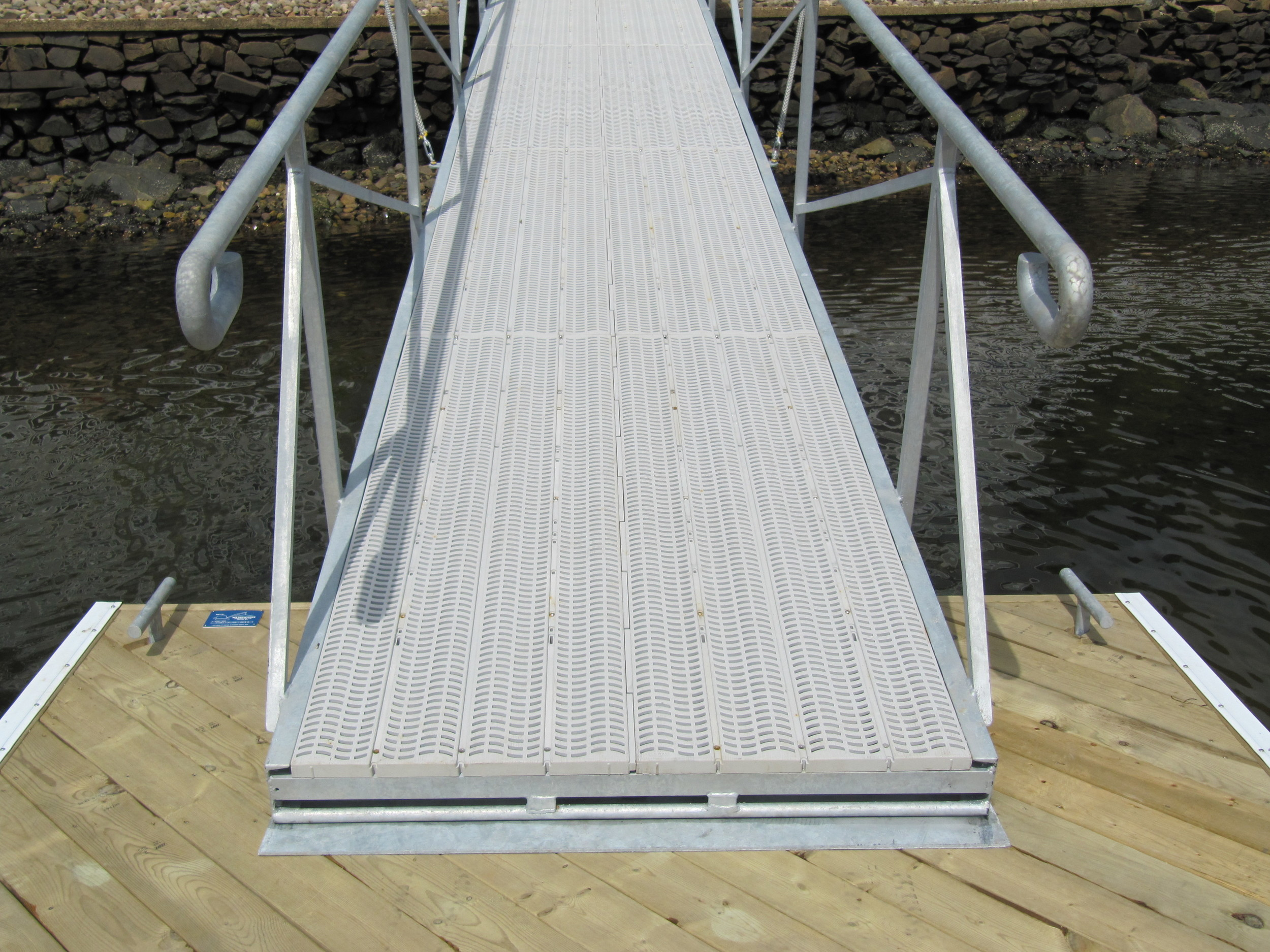 Ramp to Floating Dock Interface