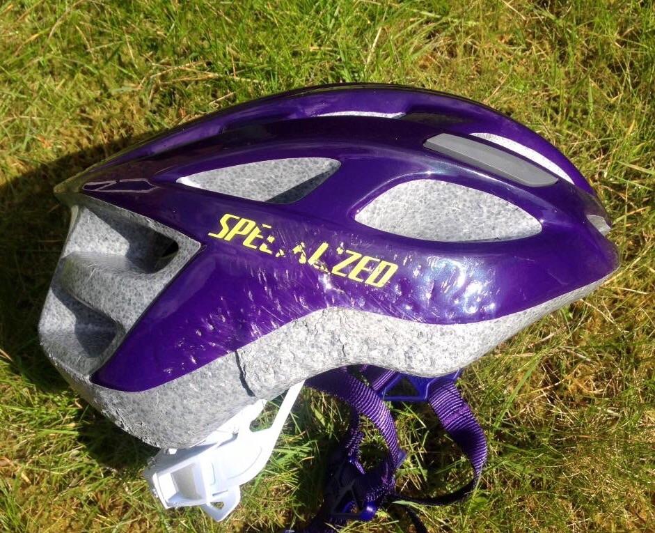Helmets - they work!