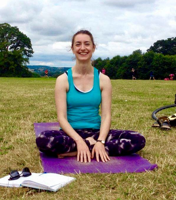 Outdoor Yoga in South Park, Oxford