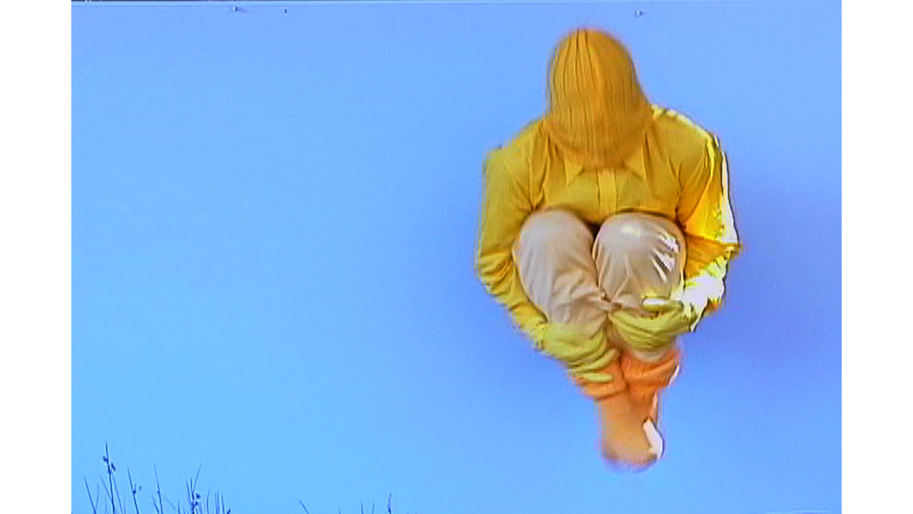 Tommy Becker, still from  PULLING DOWN THE SKY TO GIVE YOU THE SUN,  2005, 1 minute 57 seconds