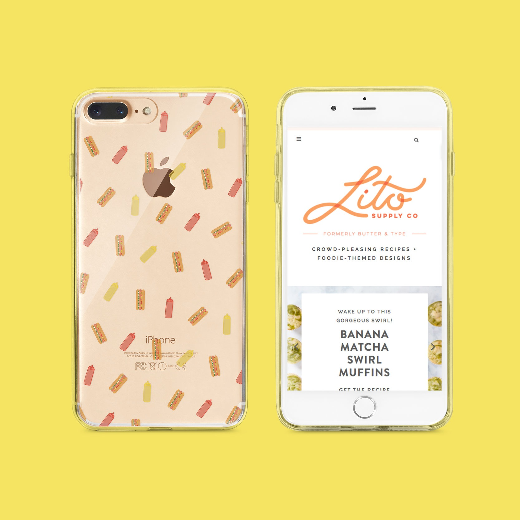 iPhone Cases - Product Design, Illustration