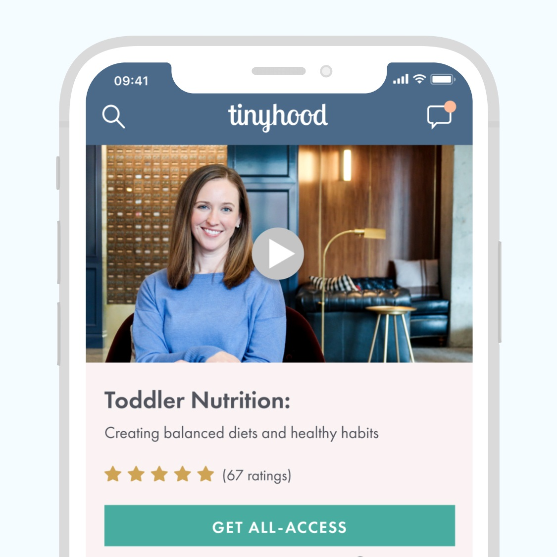 Tinyhood iOS & Android App - Android, iOS, mobile App, UI, UX