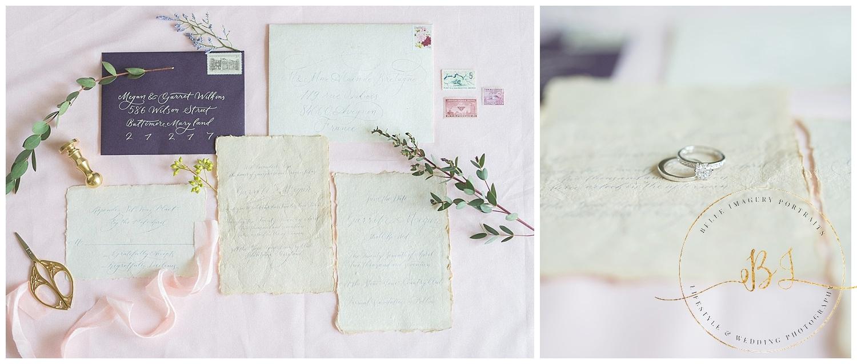Romantic Spring Styled Shoot Inspiration |Baltimore Wedding Photographer