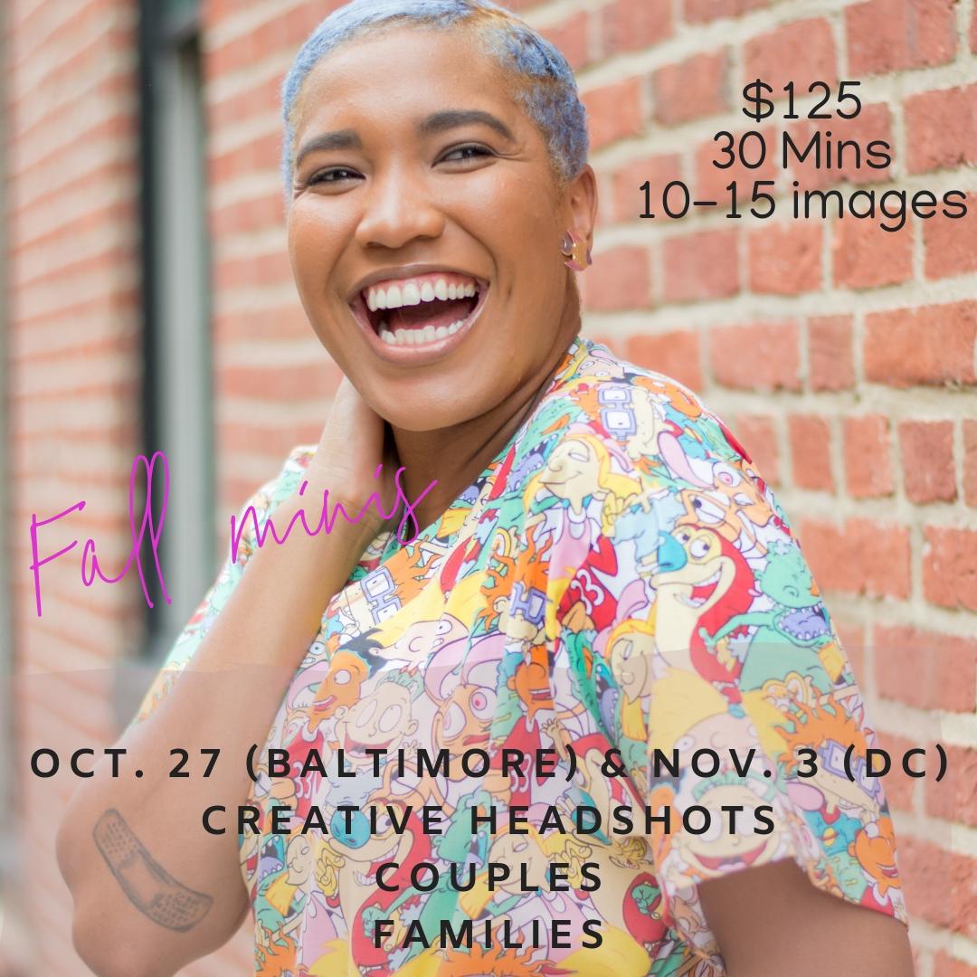 Baltimore and DC Brand Photographer