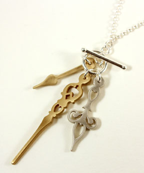 Time, necklace